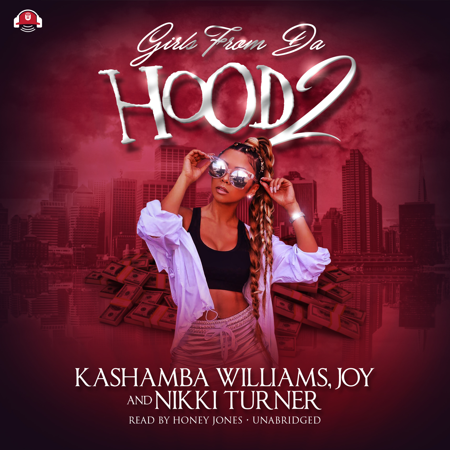 Printable Girls from da Hood 2 Audiobook Cover Art