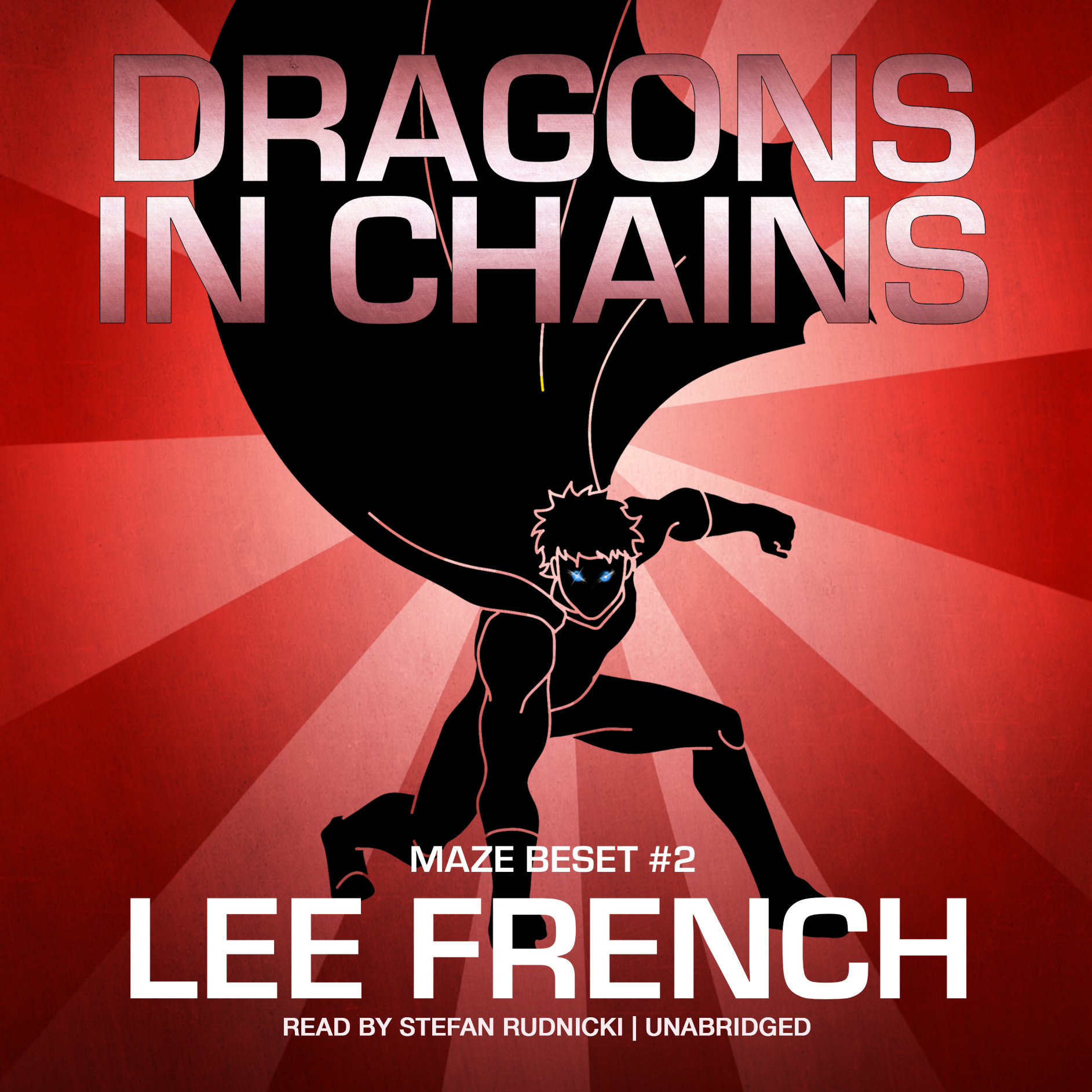 Printable Dragons in Chains Audiobook Cover Art