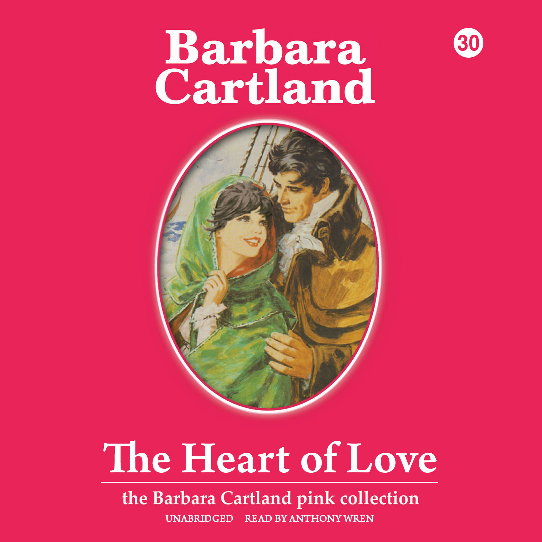 Printable The Heart of Love Audiobook Cover Art
