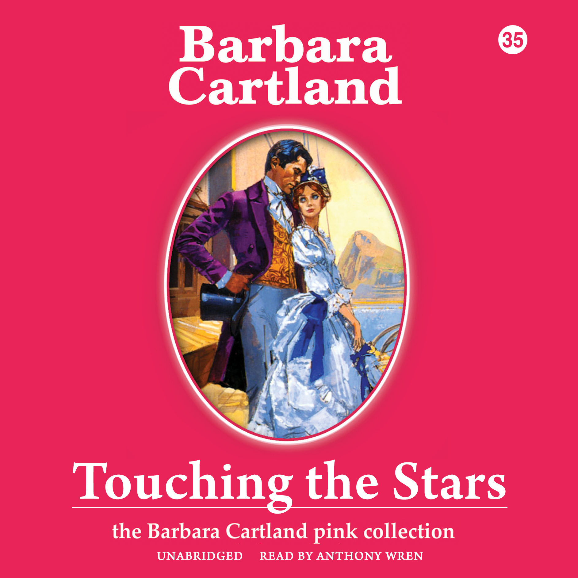 Printable Touching the Stars Audiobook Cover Art