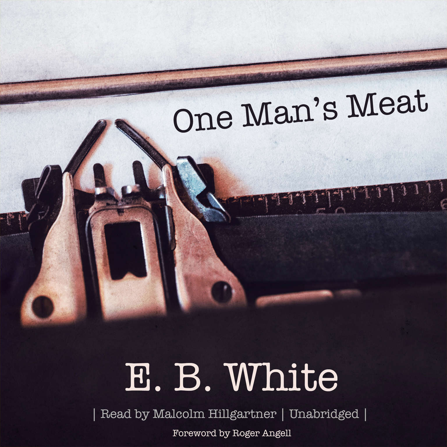 Printable One Man's Meat Audiobook Cover Art