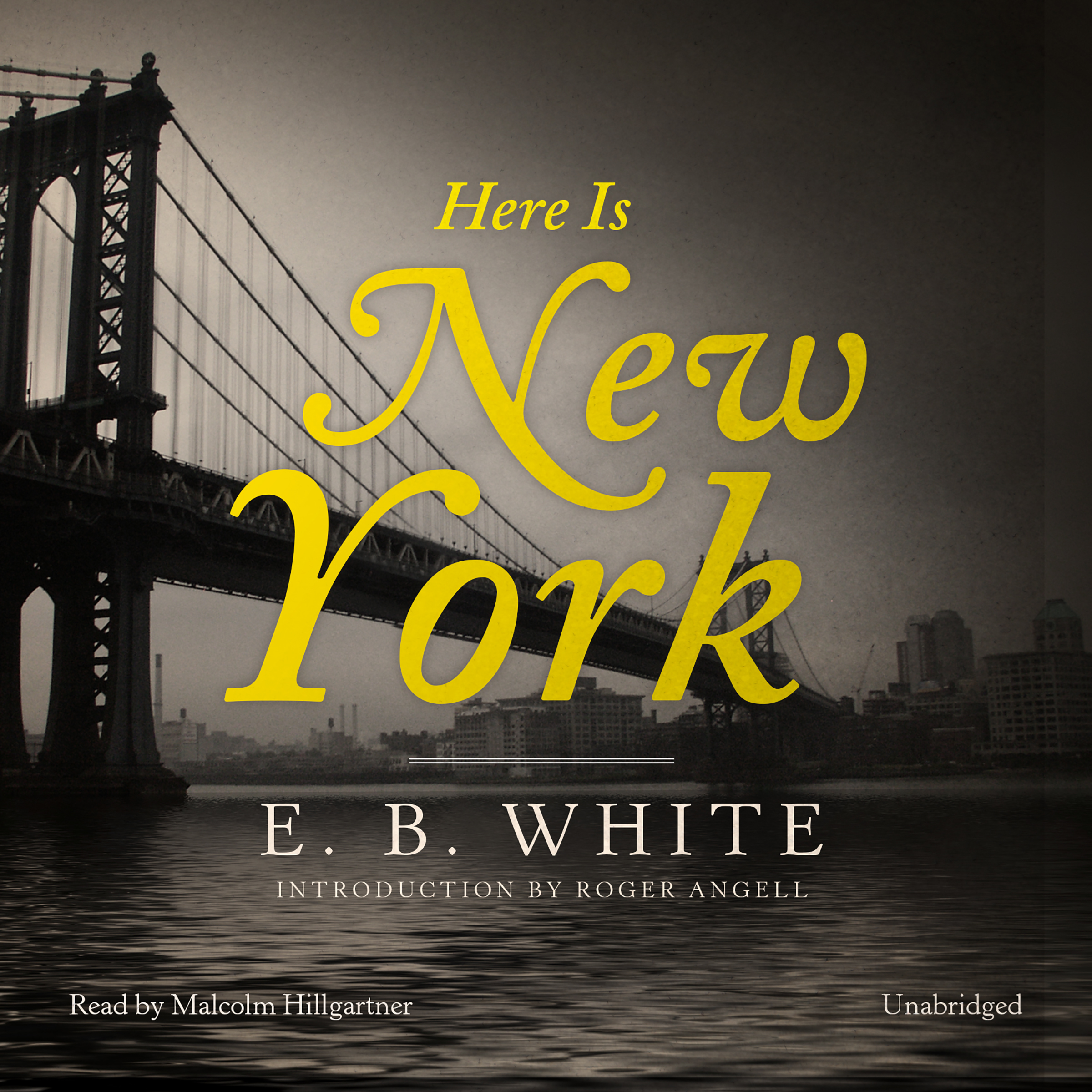 Printable Here Is New York Audiobook Cover Art