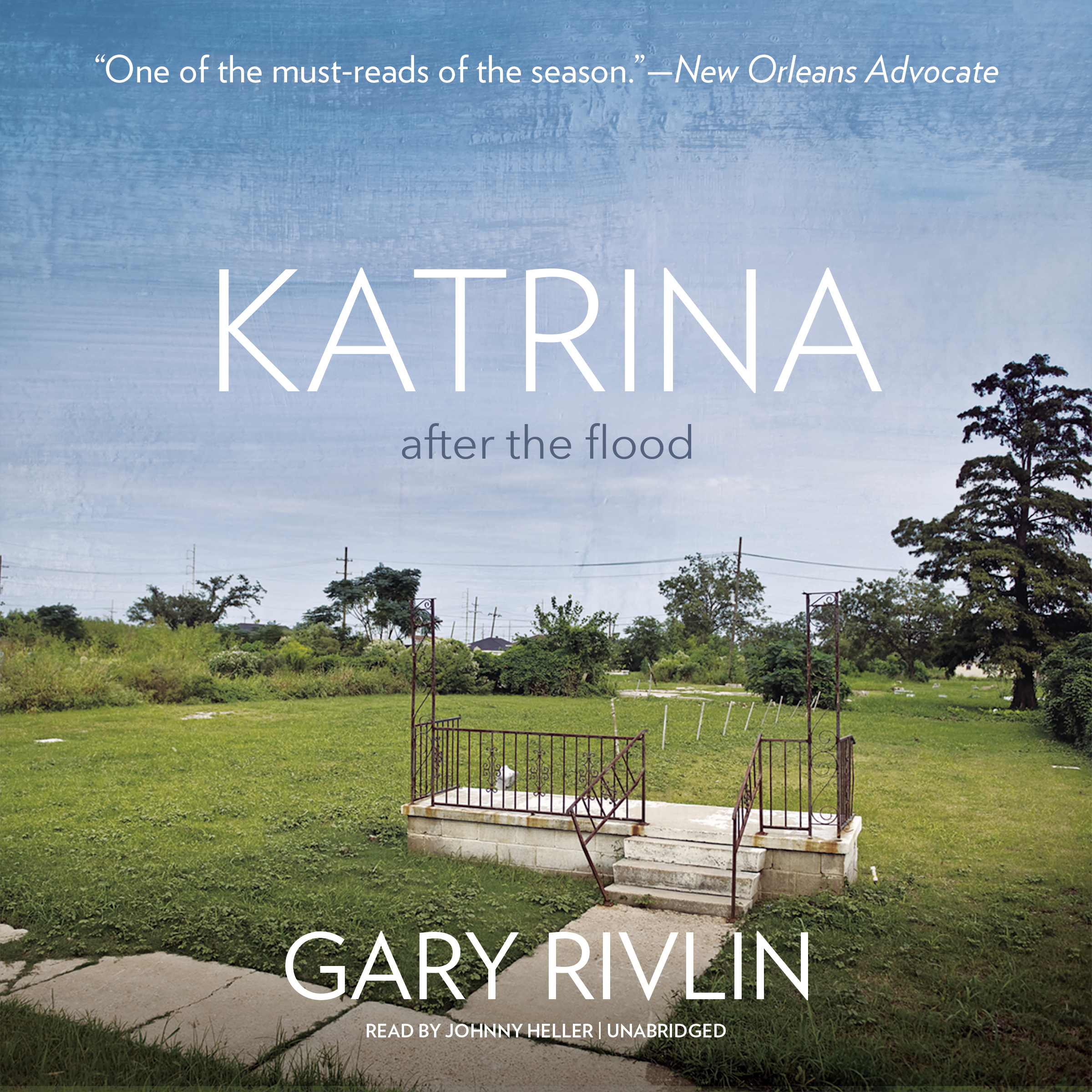 Printable Katrina: After the Flood Audiobook Cover Art