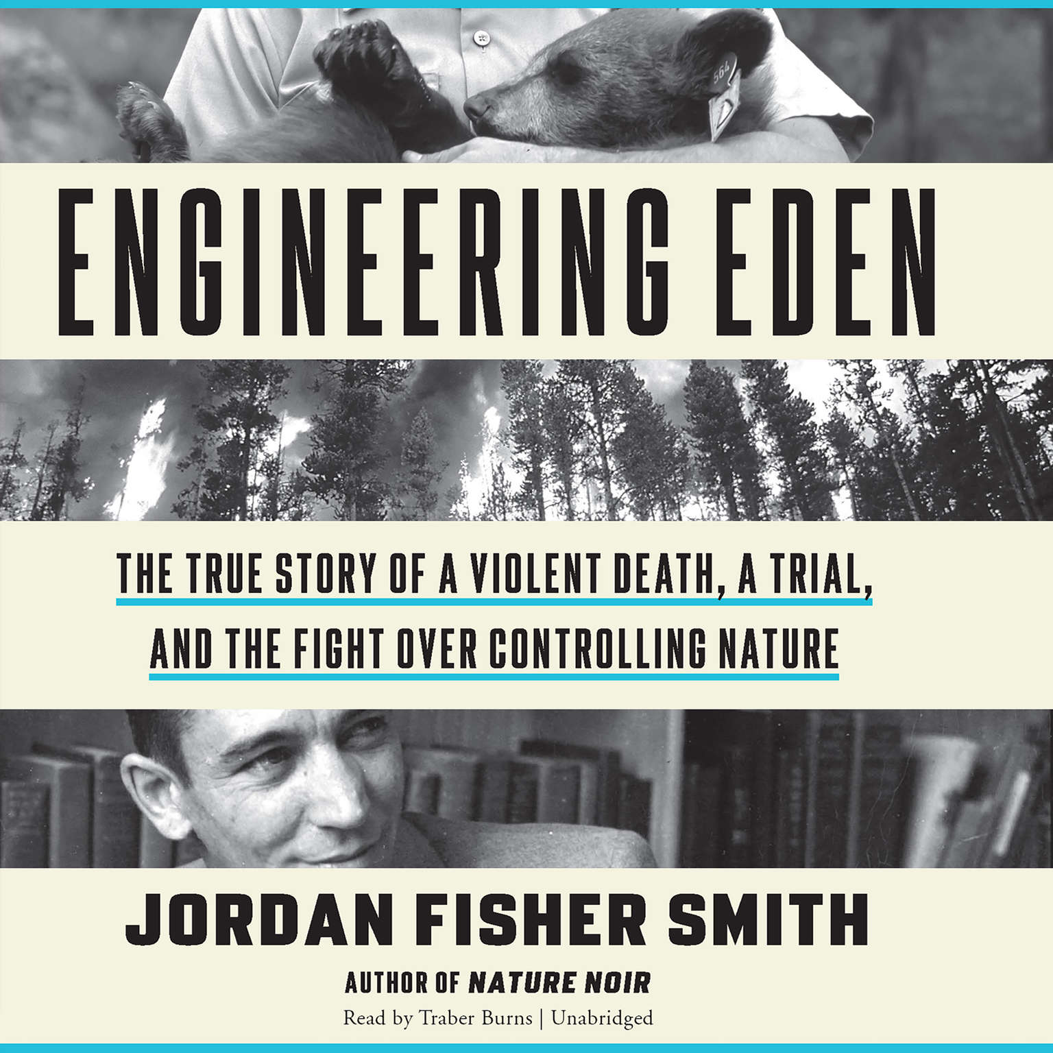 Printable Engineering Eden: The True Story of a Violent Death, a Trial, and the Fight over Controlling Nature Audiobook Cover Art