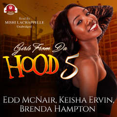 Girls from da Hood 5 Audiobook, by Edd McNair, Keisha Ervin, Brenda Hampton