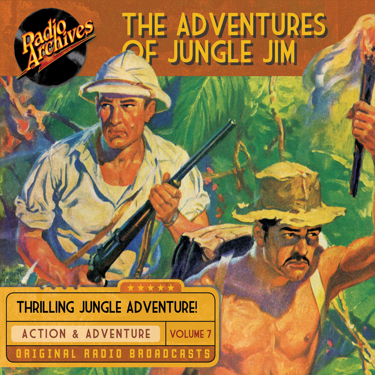 Printable The Adventures of Jungle Jim, Volume 7 Audiobook Cover Art