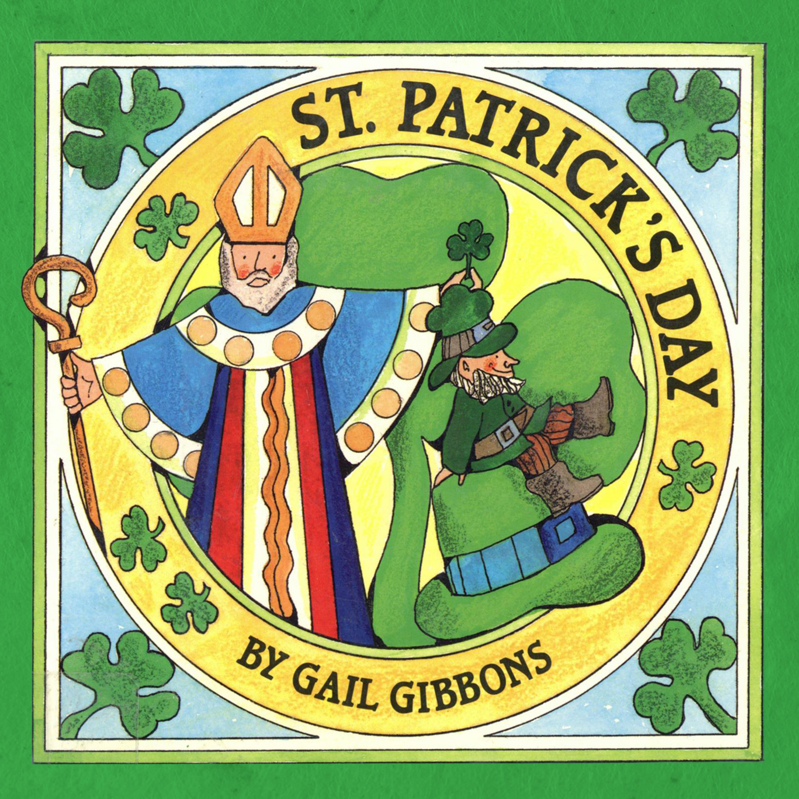 Printable St. Patrick's Day Audiobook Cover Art
