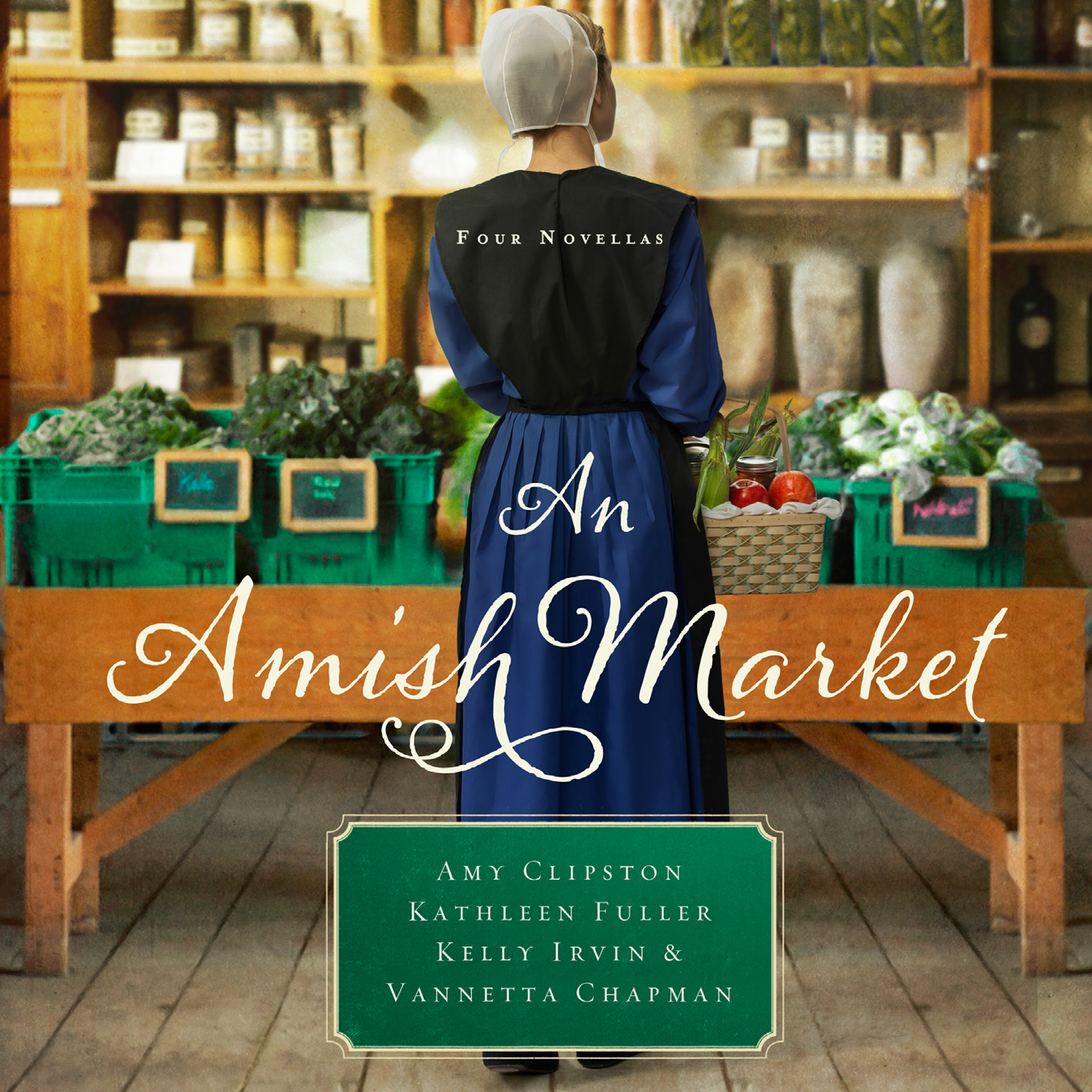 Printable An Amish Market: Four Novellas Audiobook Cover Art