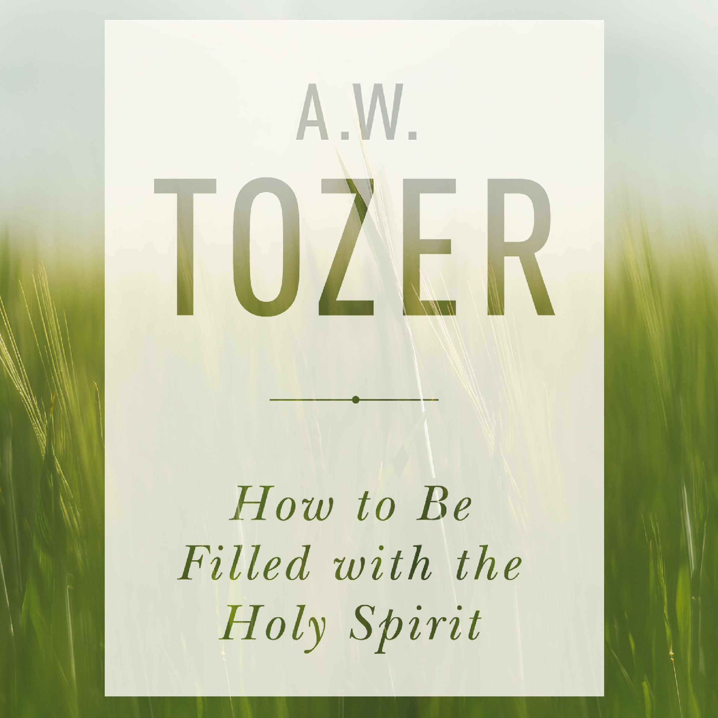 Printable How to be Filled with the Holy Spirit Audiobook Cover Art
