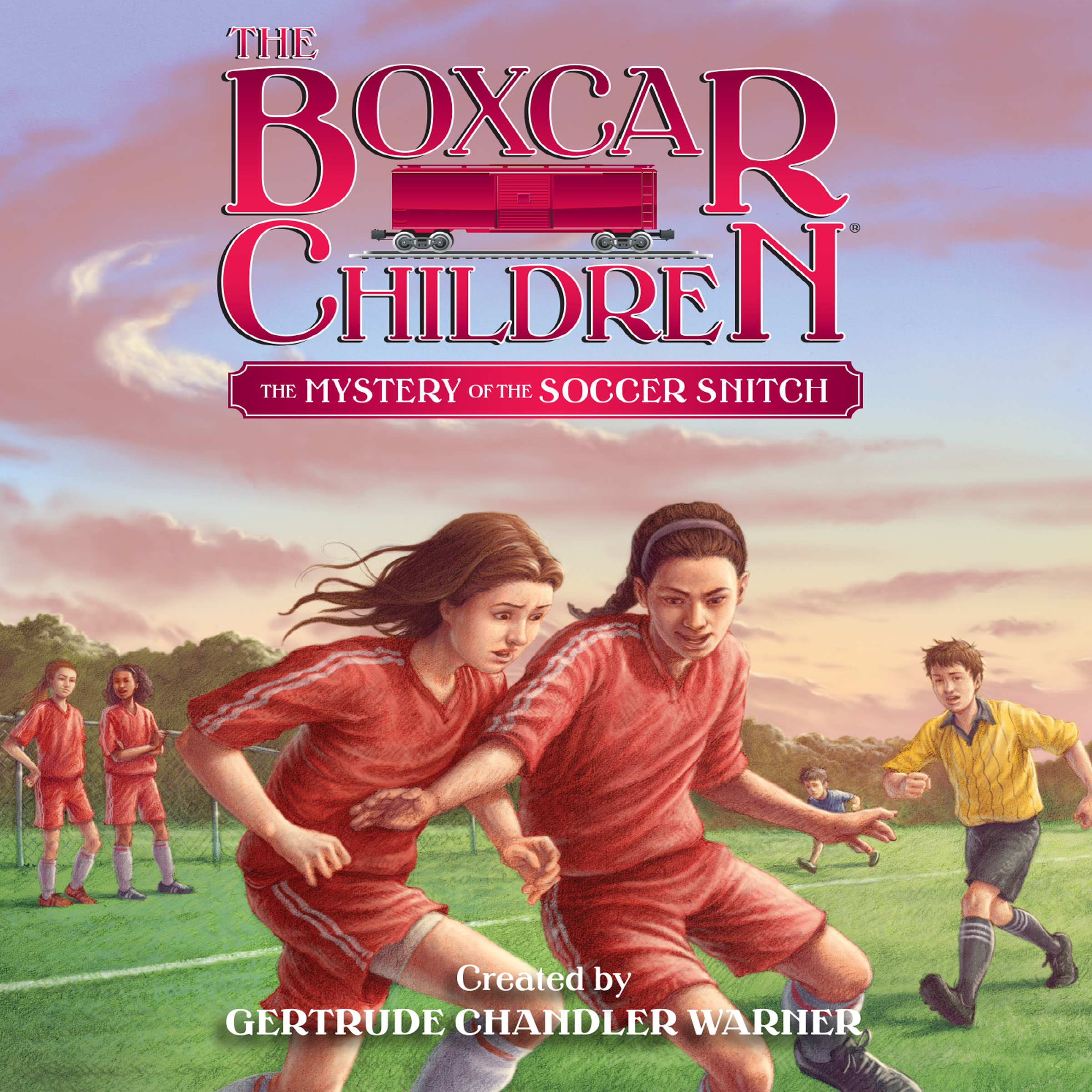 Printable The Mystery of the Soccer Snitch Audiobook Cover Art