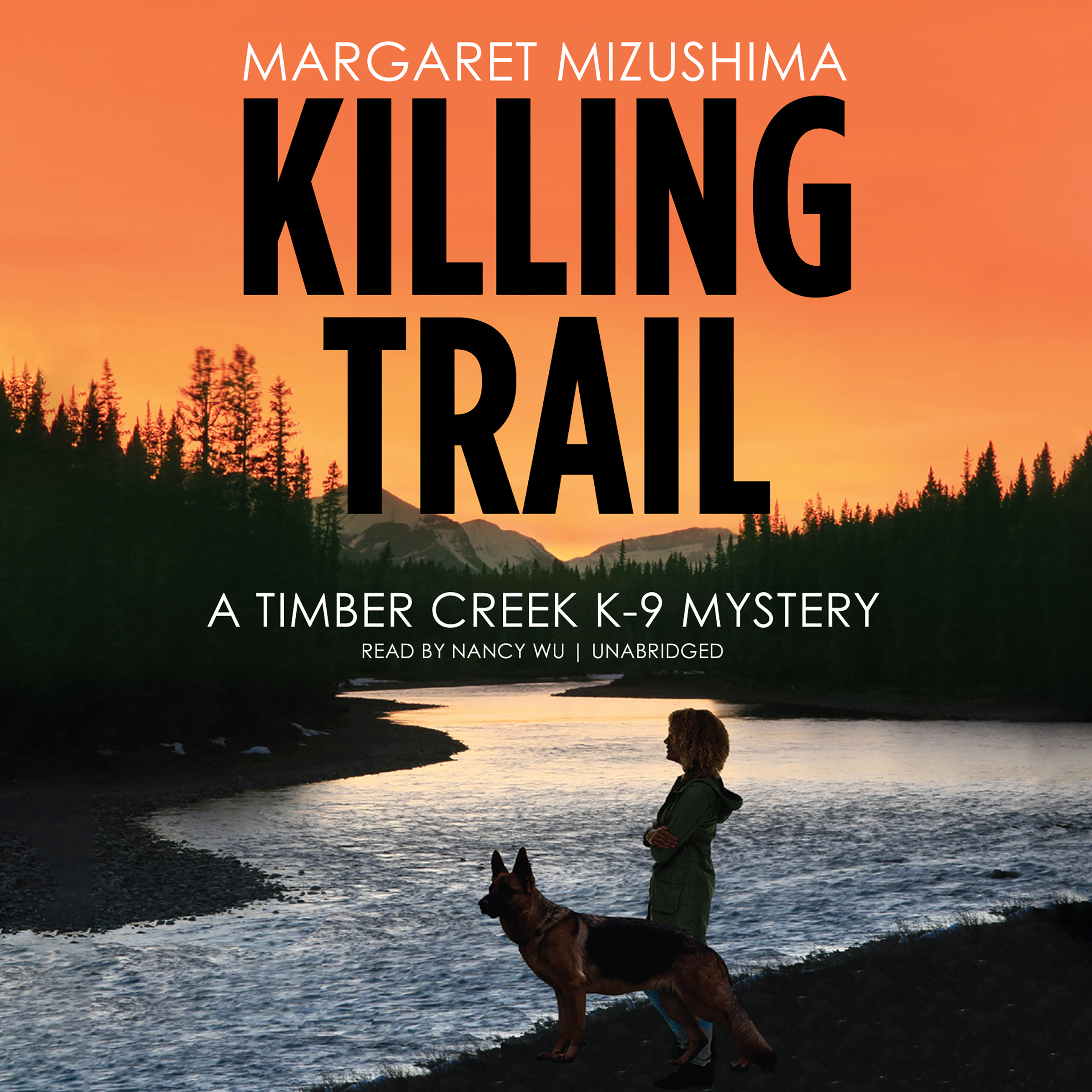 Printable Killing Trail: A Timber Creek K-9 Mystery Audiobook Cover Art