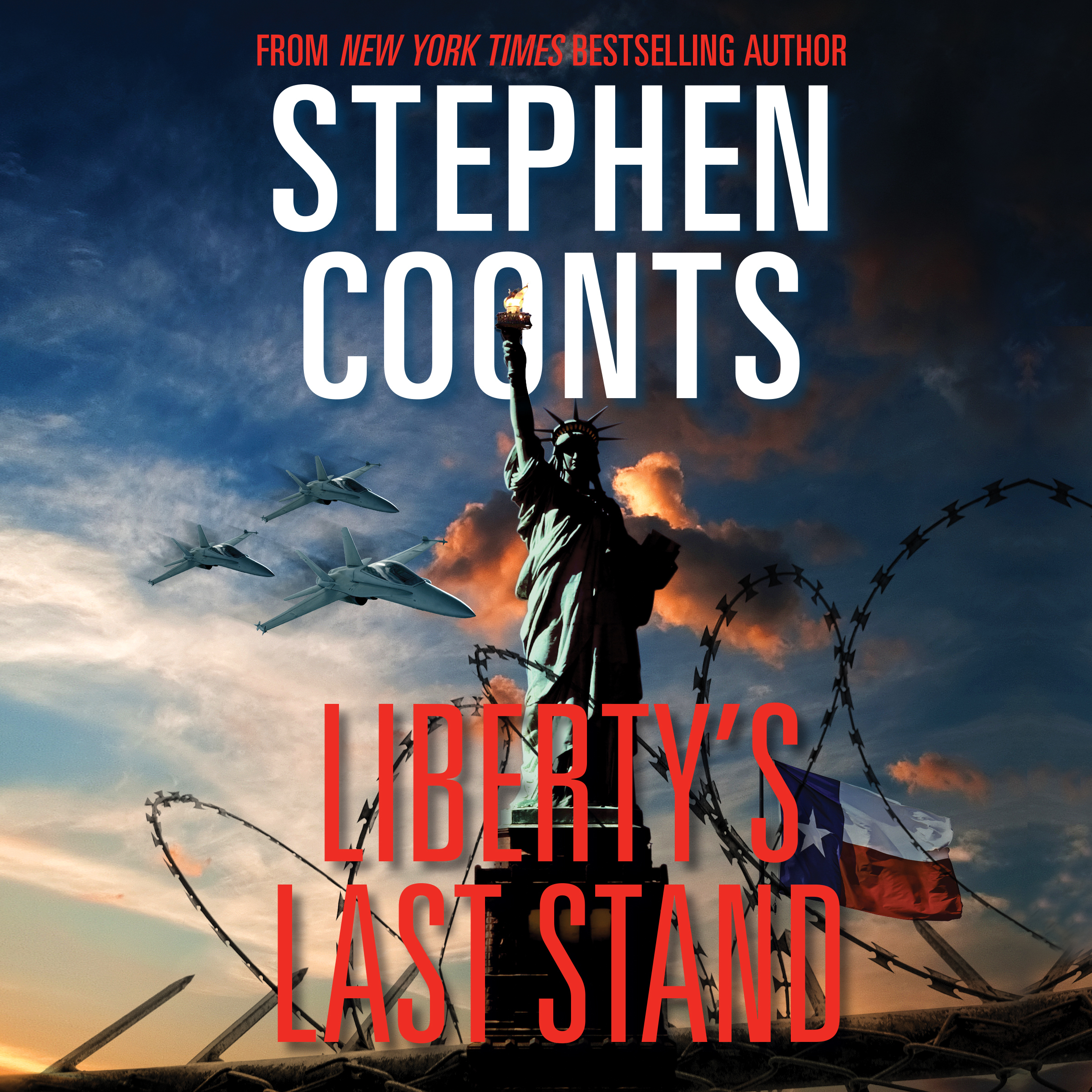 Printable Liberty's Last Stand Audiobook Cover Art