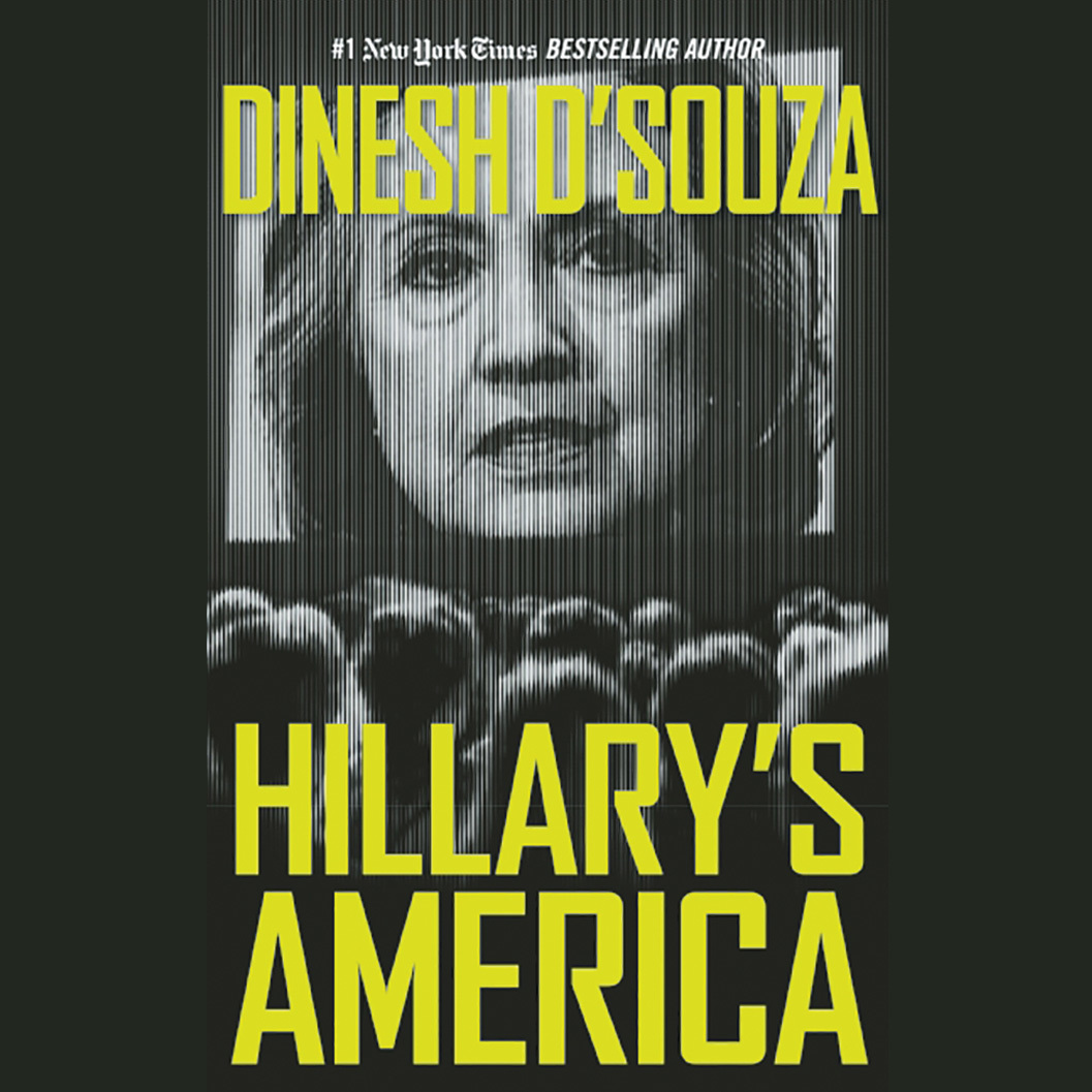 Printable Hillary's America: The Secret History of the Democratic Party Audiobook Cover Art