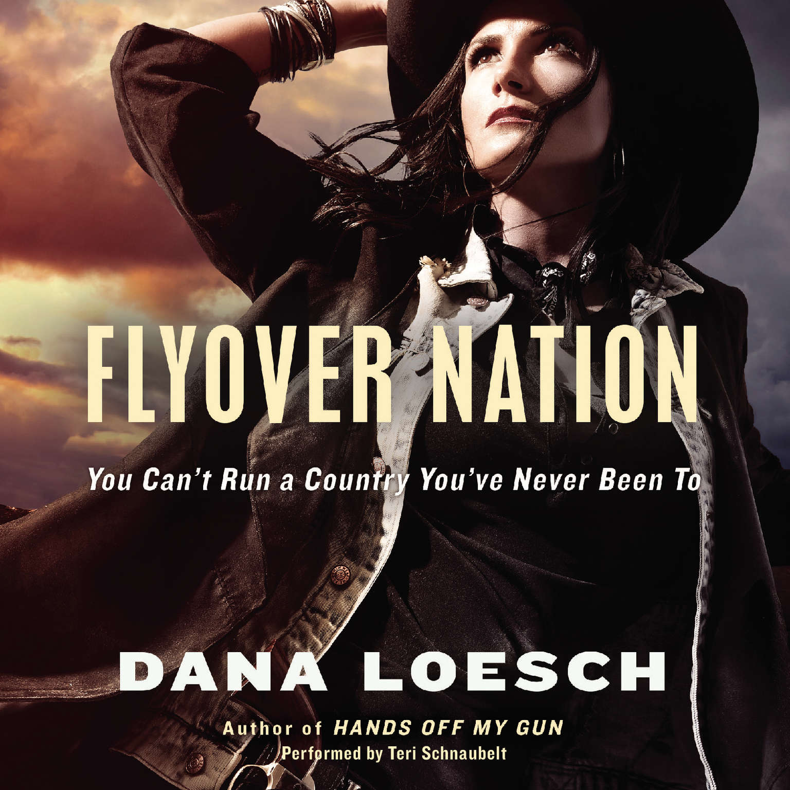 Printable Flyover Nation: You Can't Run a Country You've Never Been To Audiobook Cover Art