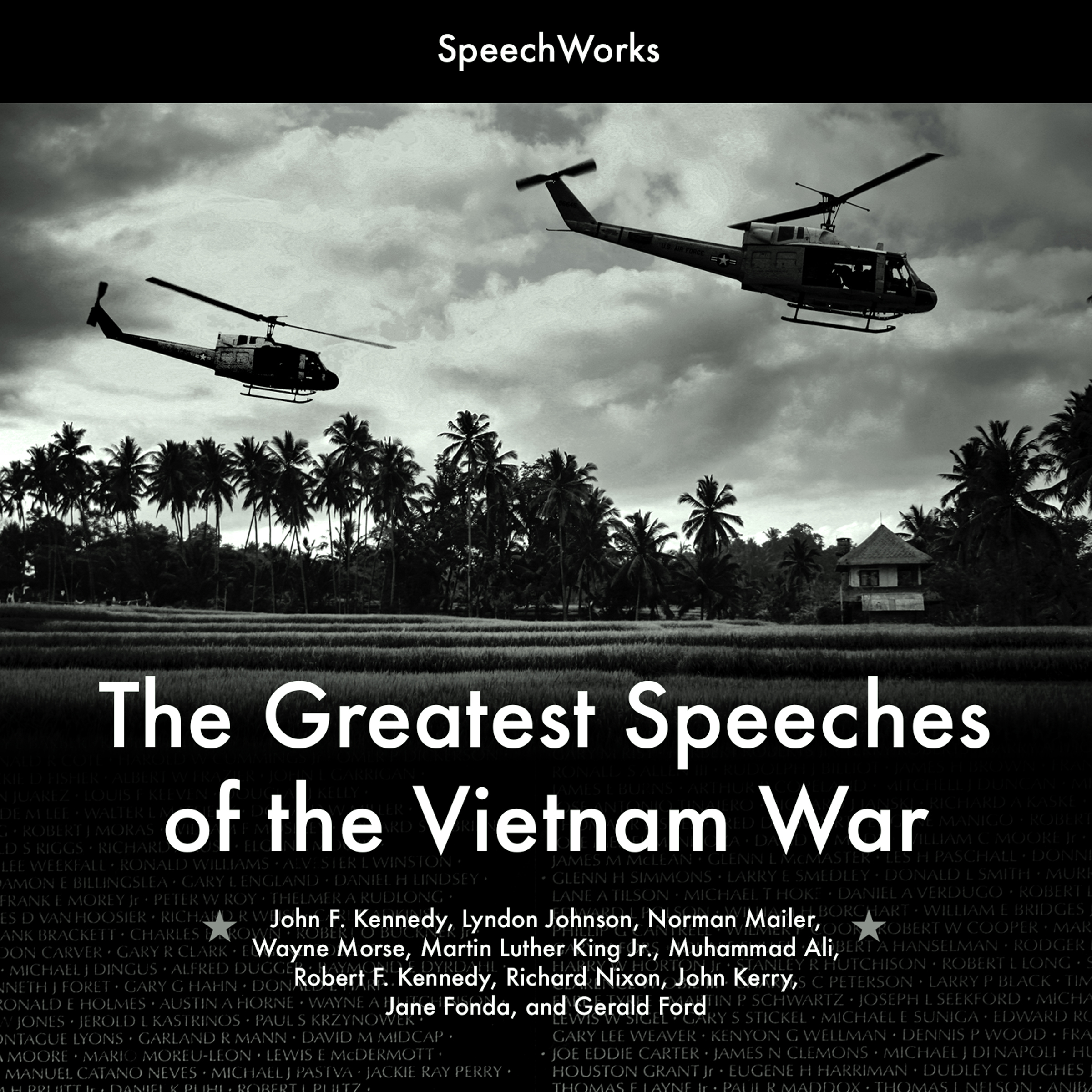Printable The Greatest Speeches of the Vietnam War Audiobook Cover Art