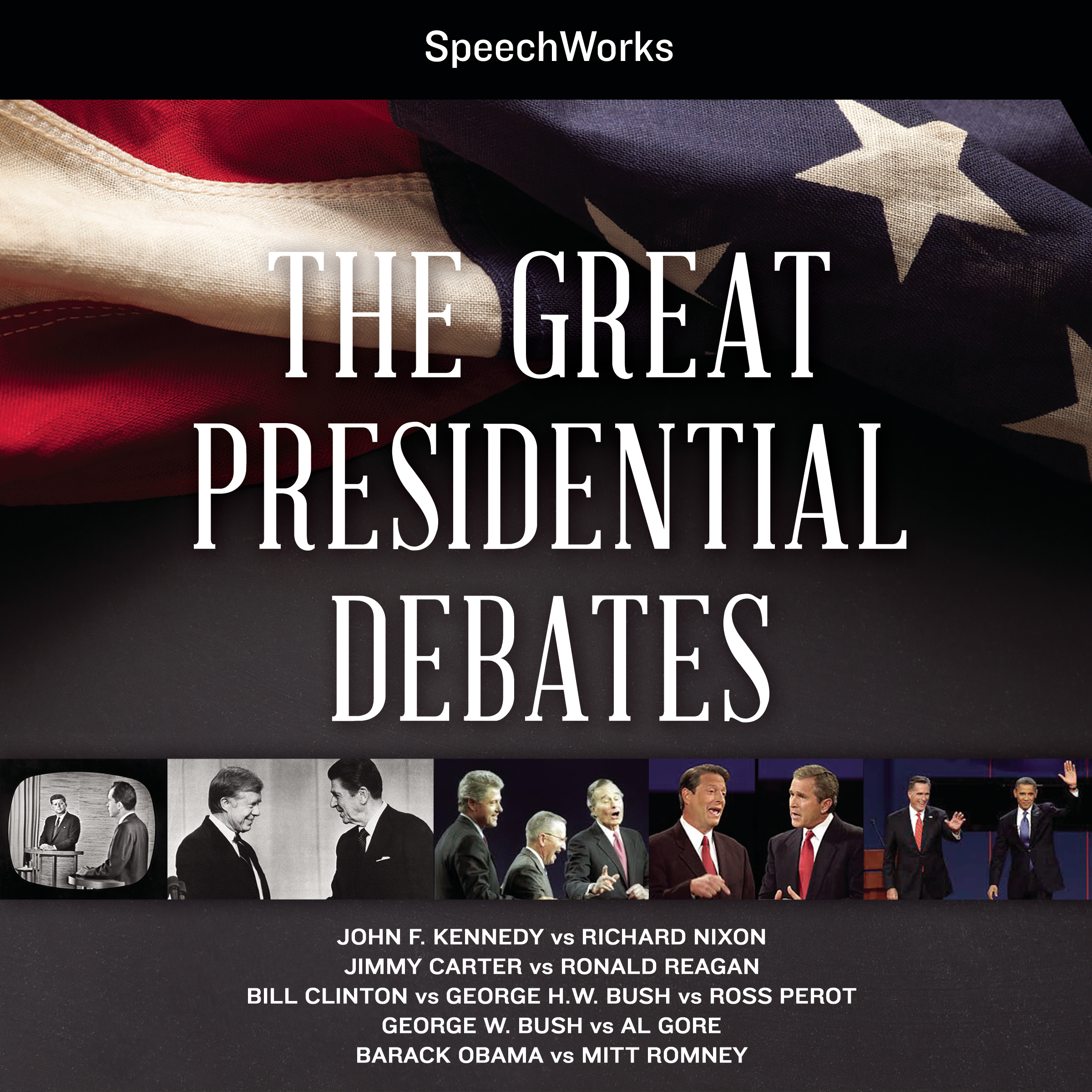 Printable The Great Presidential Debates Audiobook Cover Art