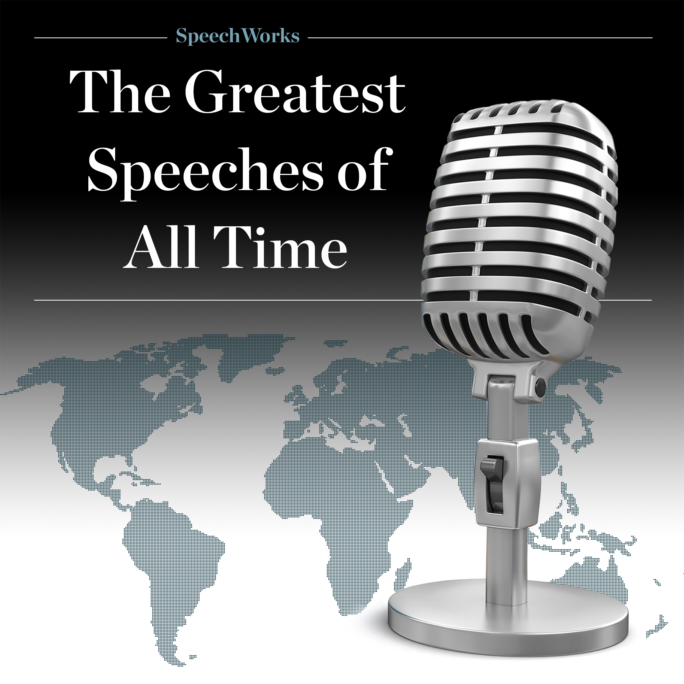 Printable The Greatest Speeches of All Time Audiobook Cover Art