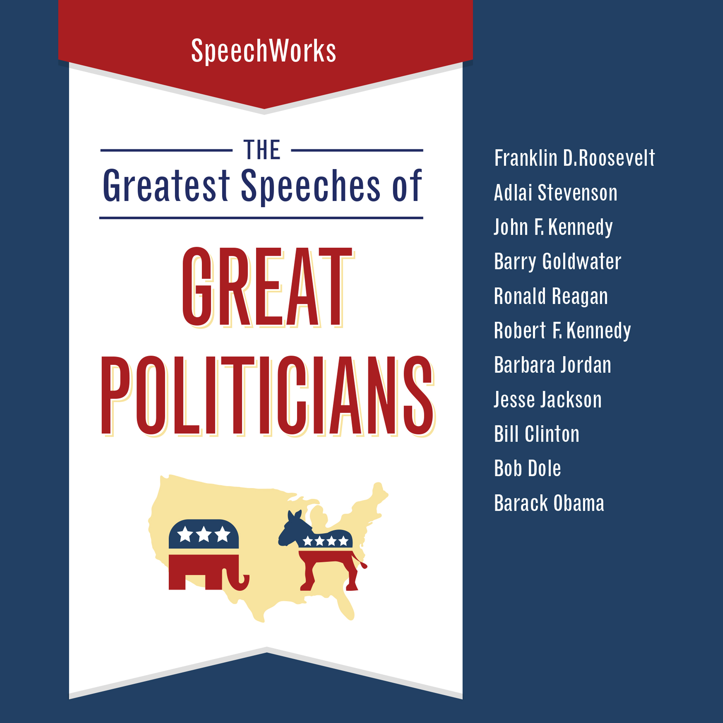 Printable The Greatest Speeches of Great Politicians Audiobook Cover Art