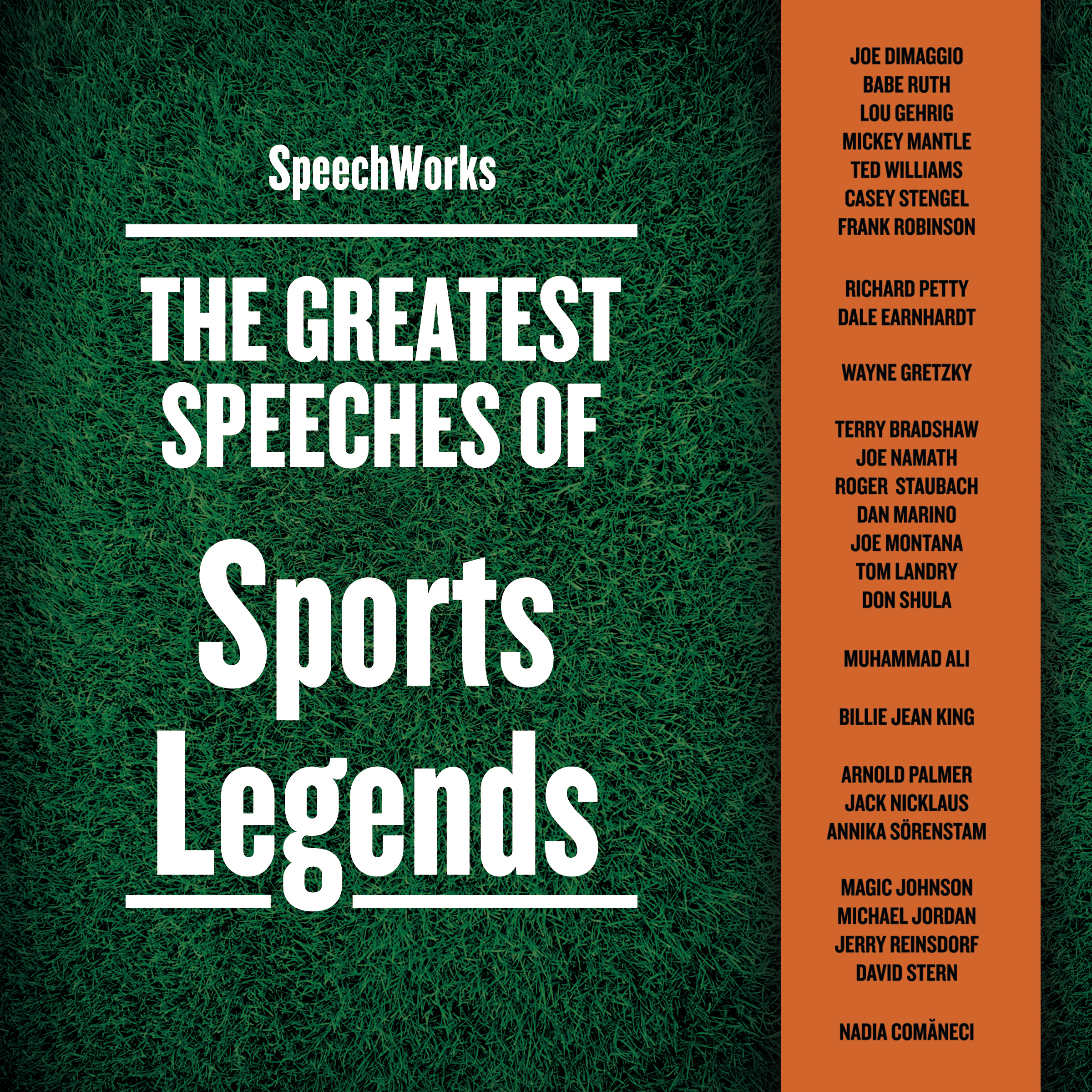 Printable The Greatest Speeches of Sports Legends Audiobook Cover Art