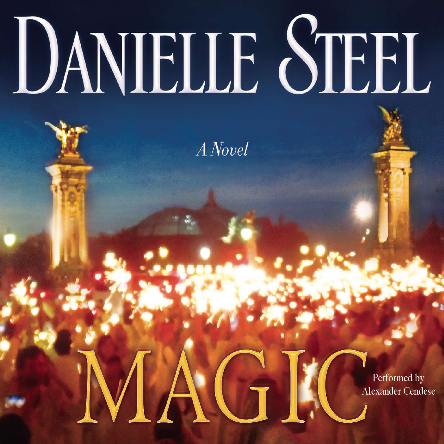 Printable Magic: A Novel Audiobook Cover Art