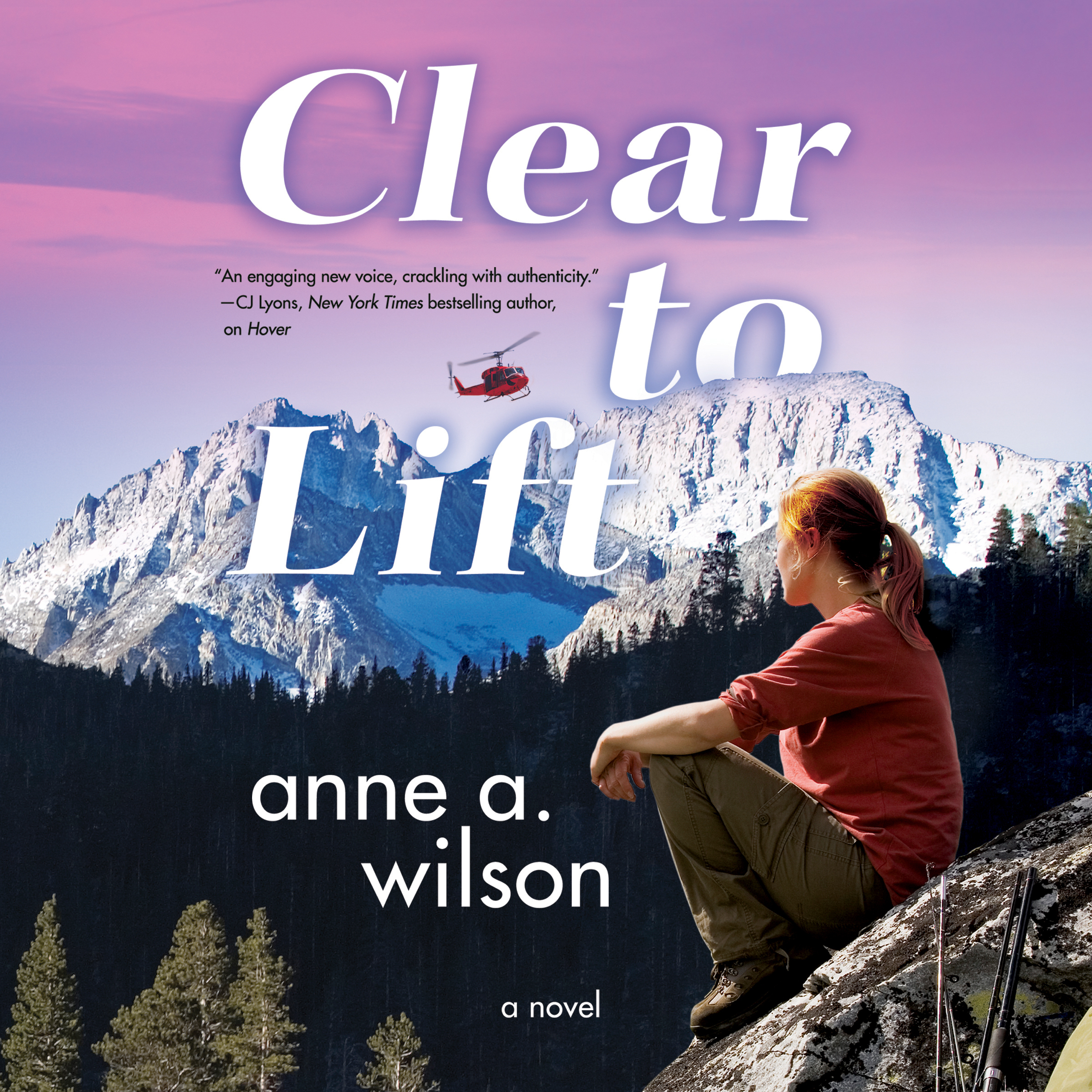 Printable Clear to Lift: A Novel Audiobook Cover Art