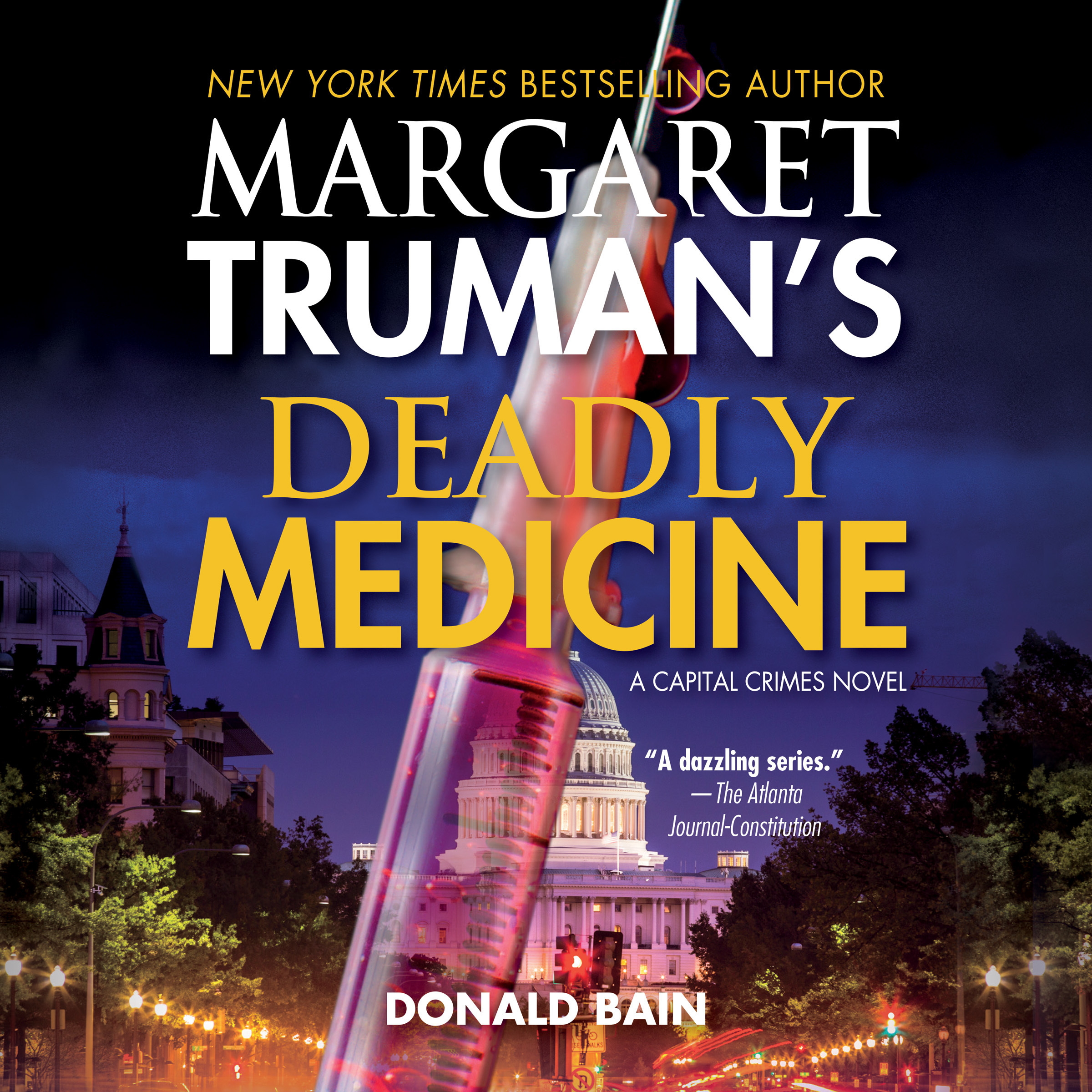 Printable Deadly Medicine Audiobook Cover Art