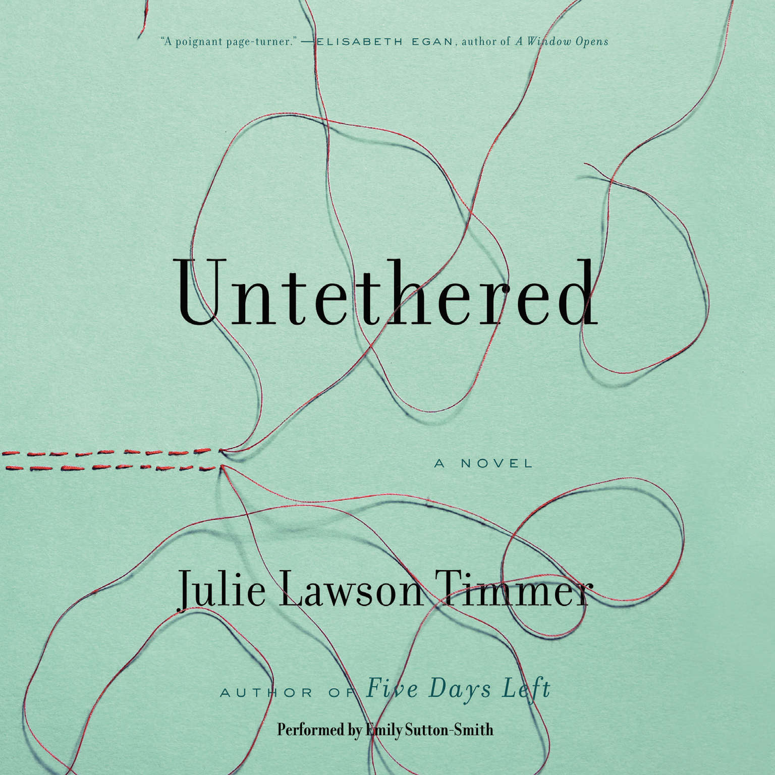 Printable Untethered Audiobook Cover Art