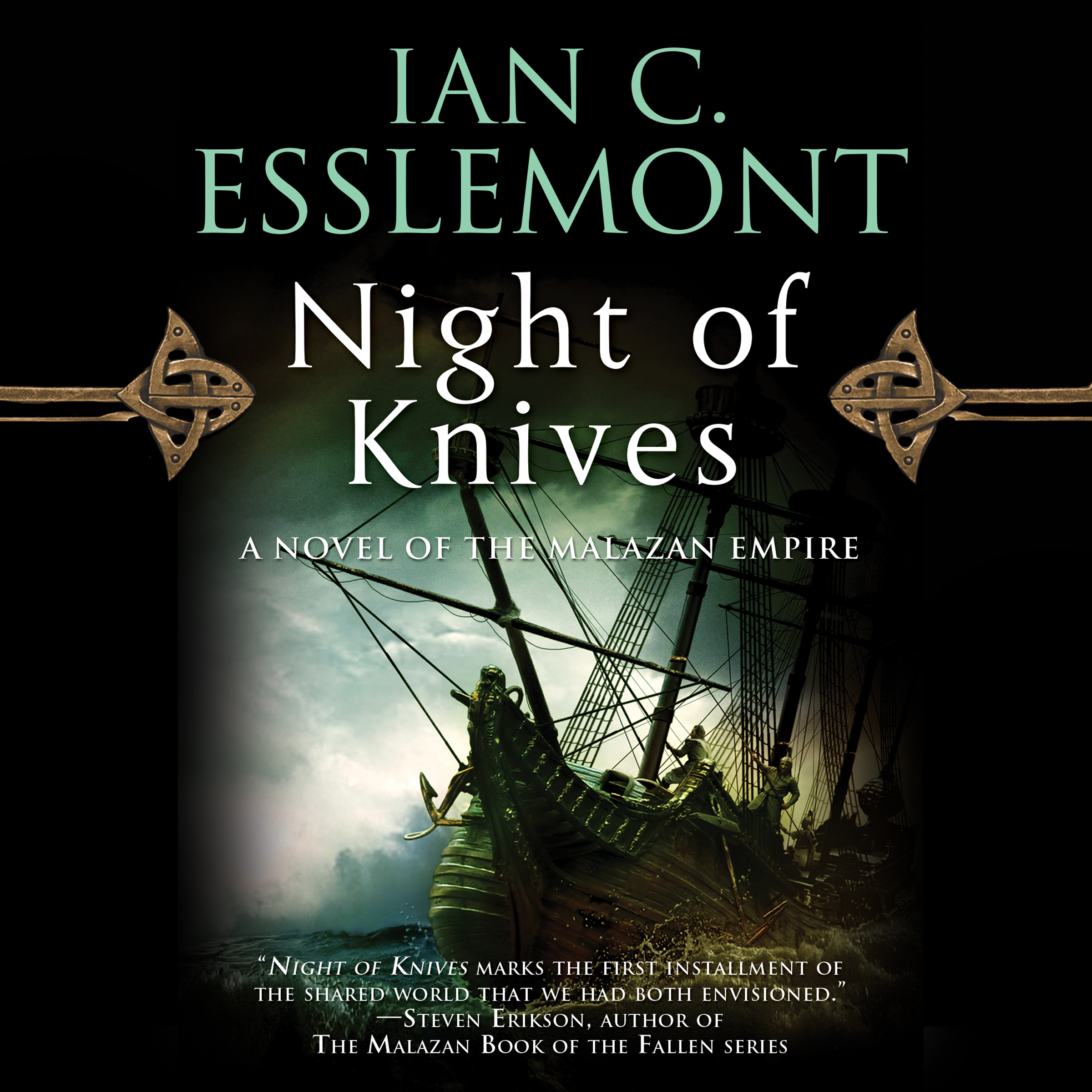Printable Night of Knives Audiobook Cover Art