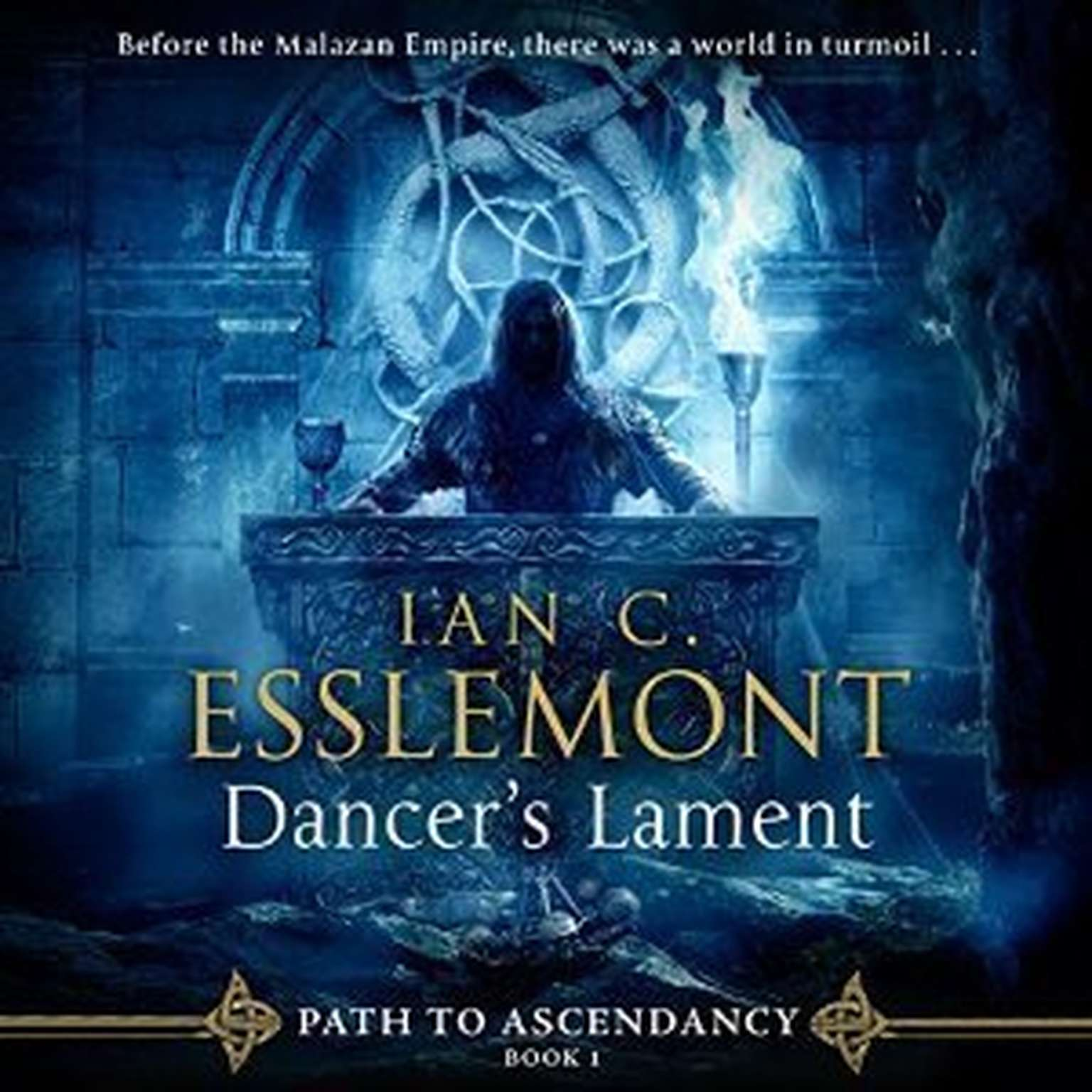 Printable Dancer's Lament Audiobook Cover Art