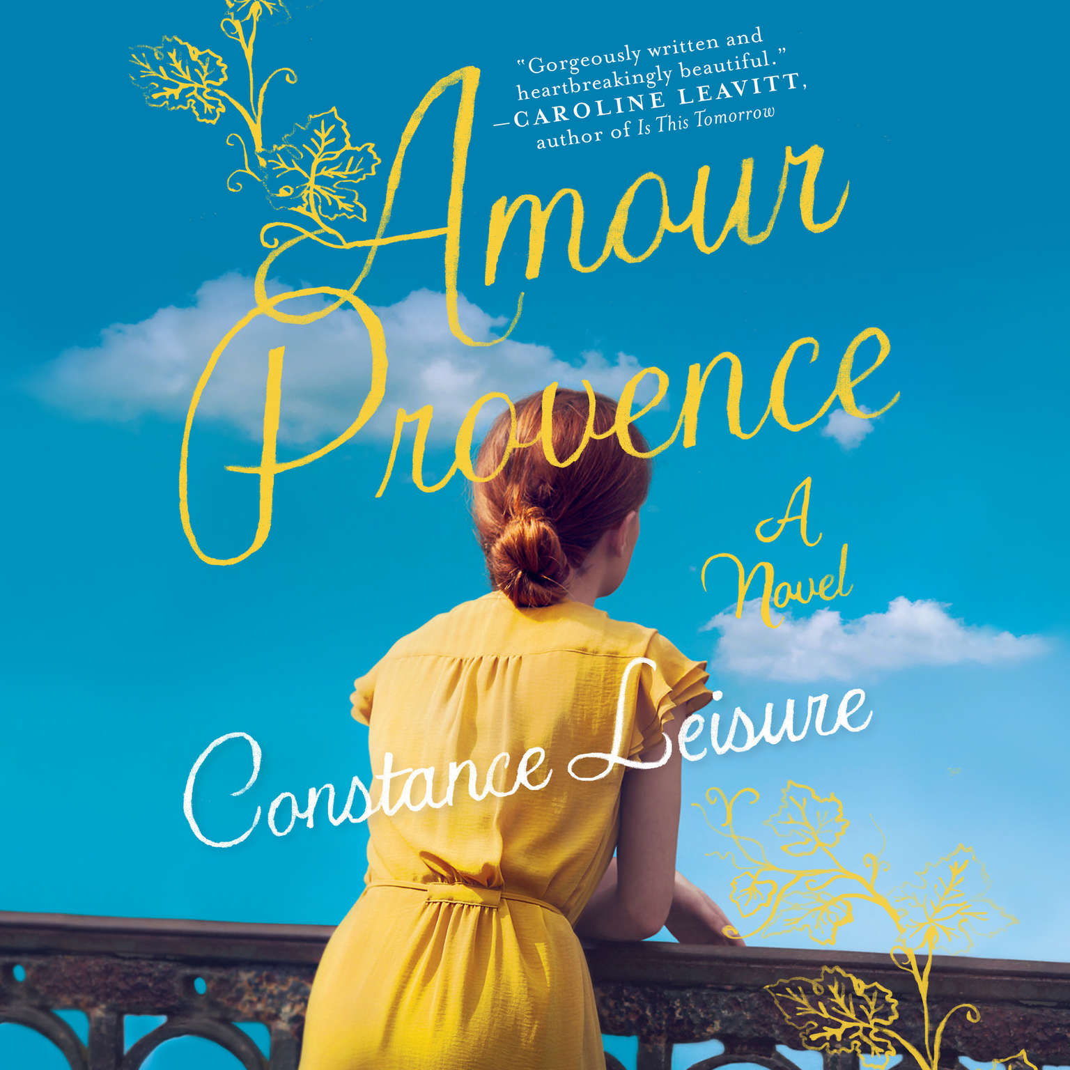 Printable Amour Provence Audiobook Cover Art