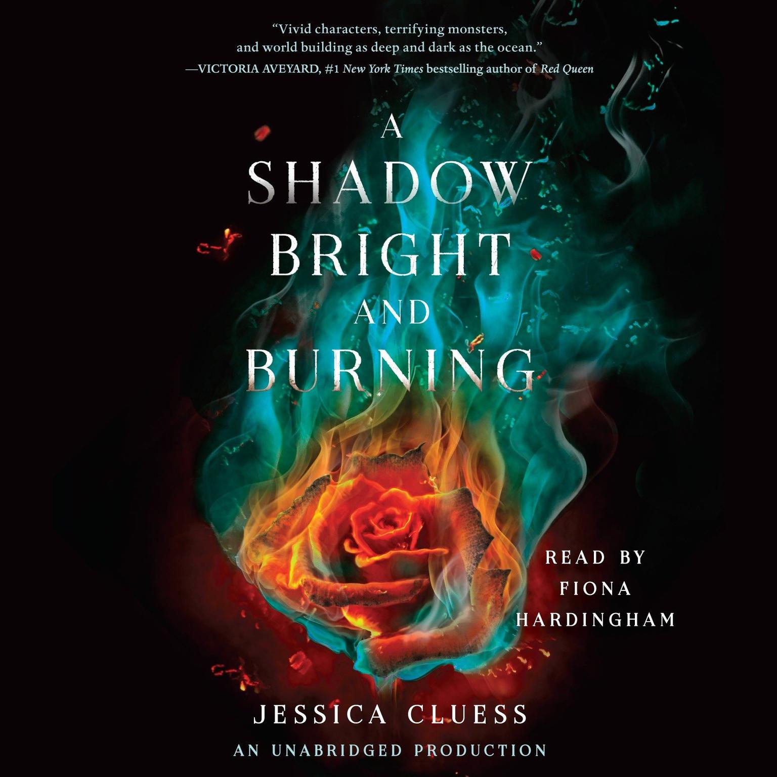 Printable A Shadow Bright and Burning Audiobook Cover Art