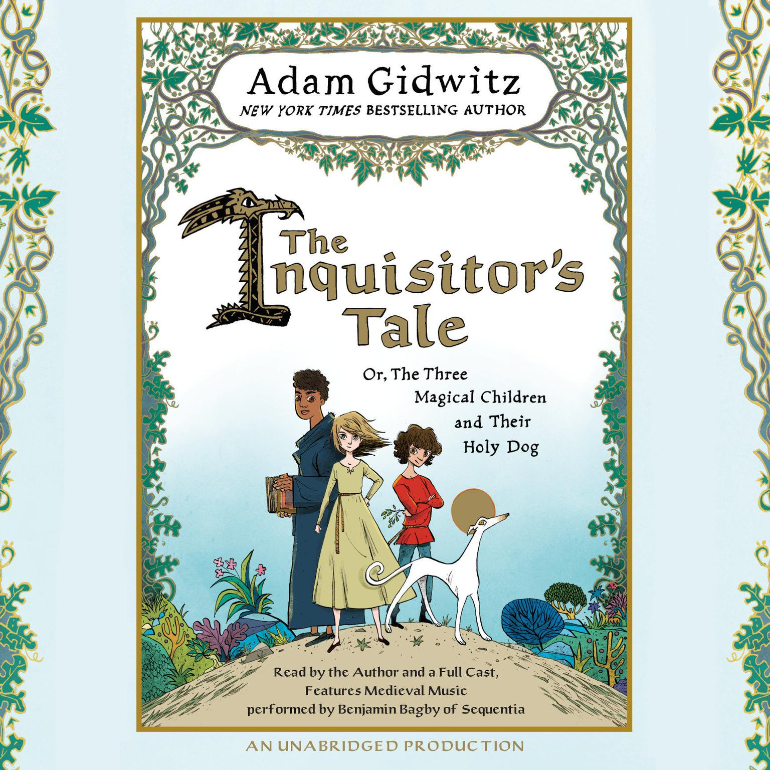 Printable The Inquisitor's Tale: Or, The Three Magical Children and Their Holy Dog Audiobook Cover Art