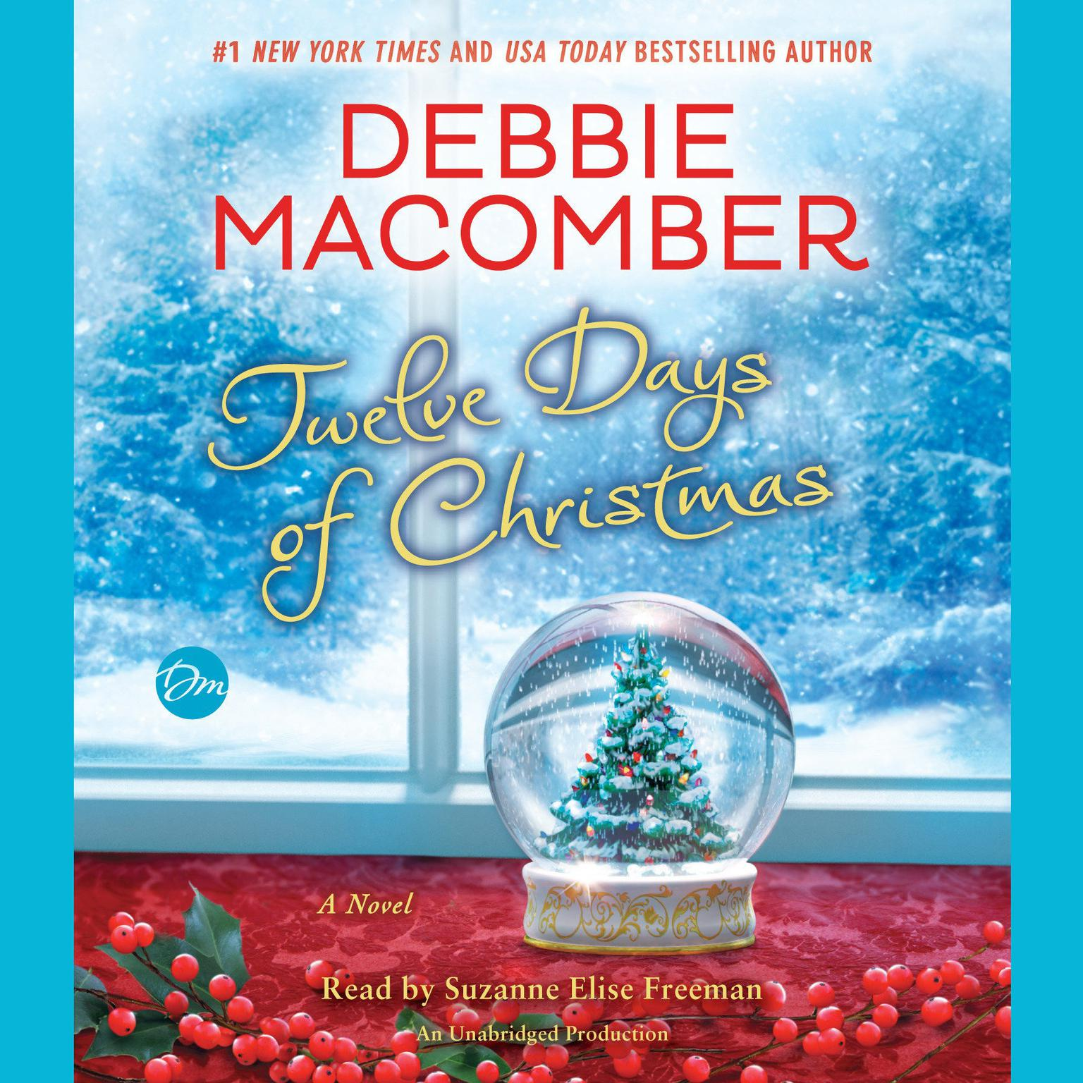 Printable Twelve Days of Christmas: A Christmas Novel Audiobook Cover Art