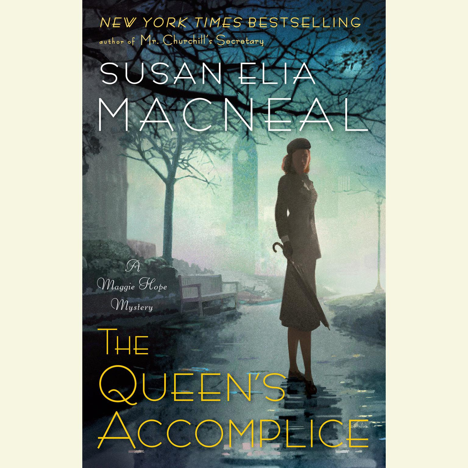 Printable The Queen's Accomplice Audiobook Cover Art