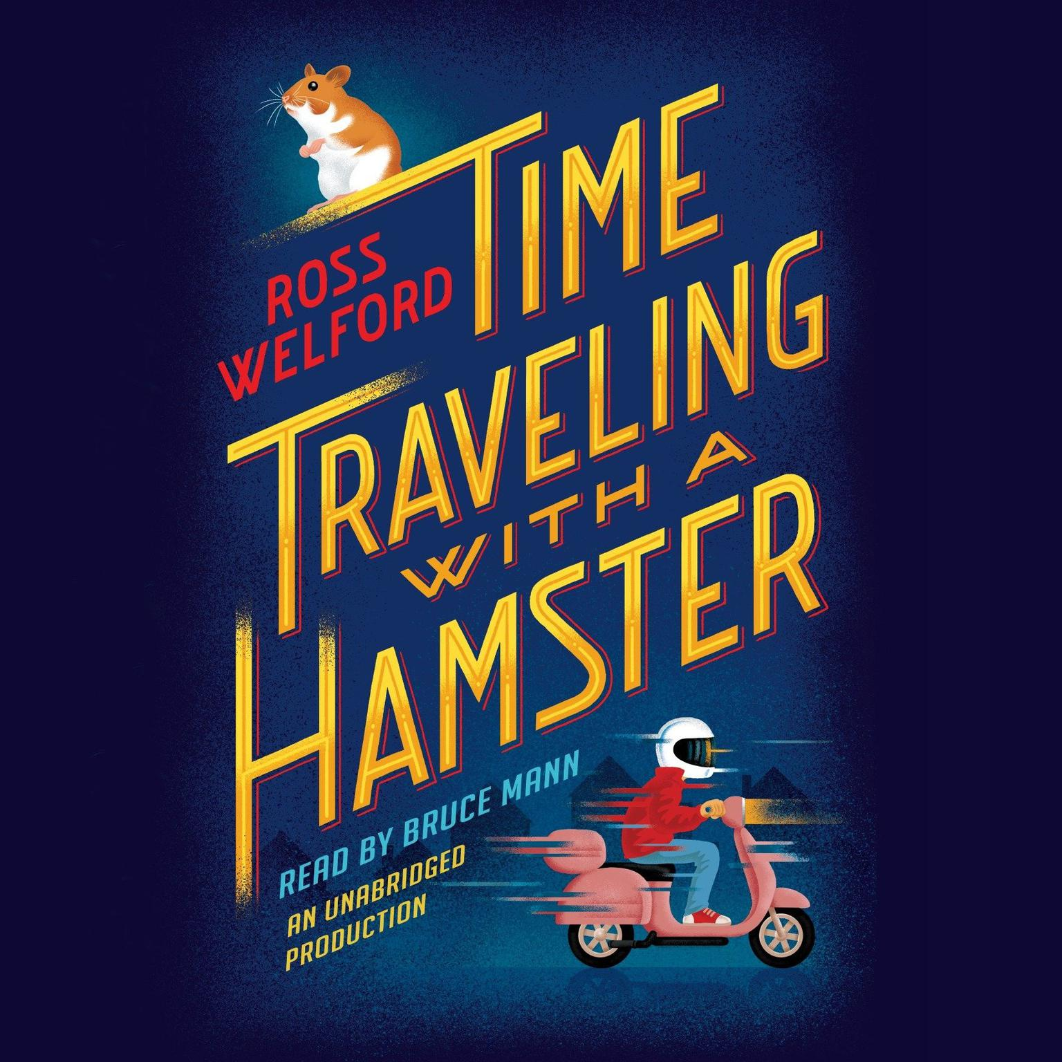 Printable Time Traveling with a Hamster Audiobook Cover Art