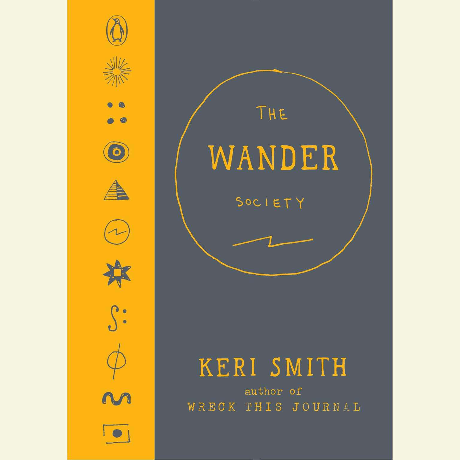 Printable The Wander Society Audiobook Cover Art