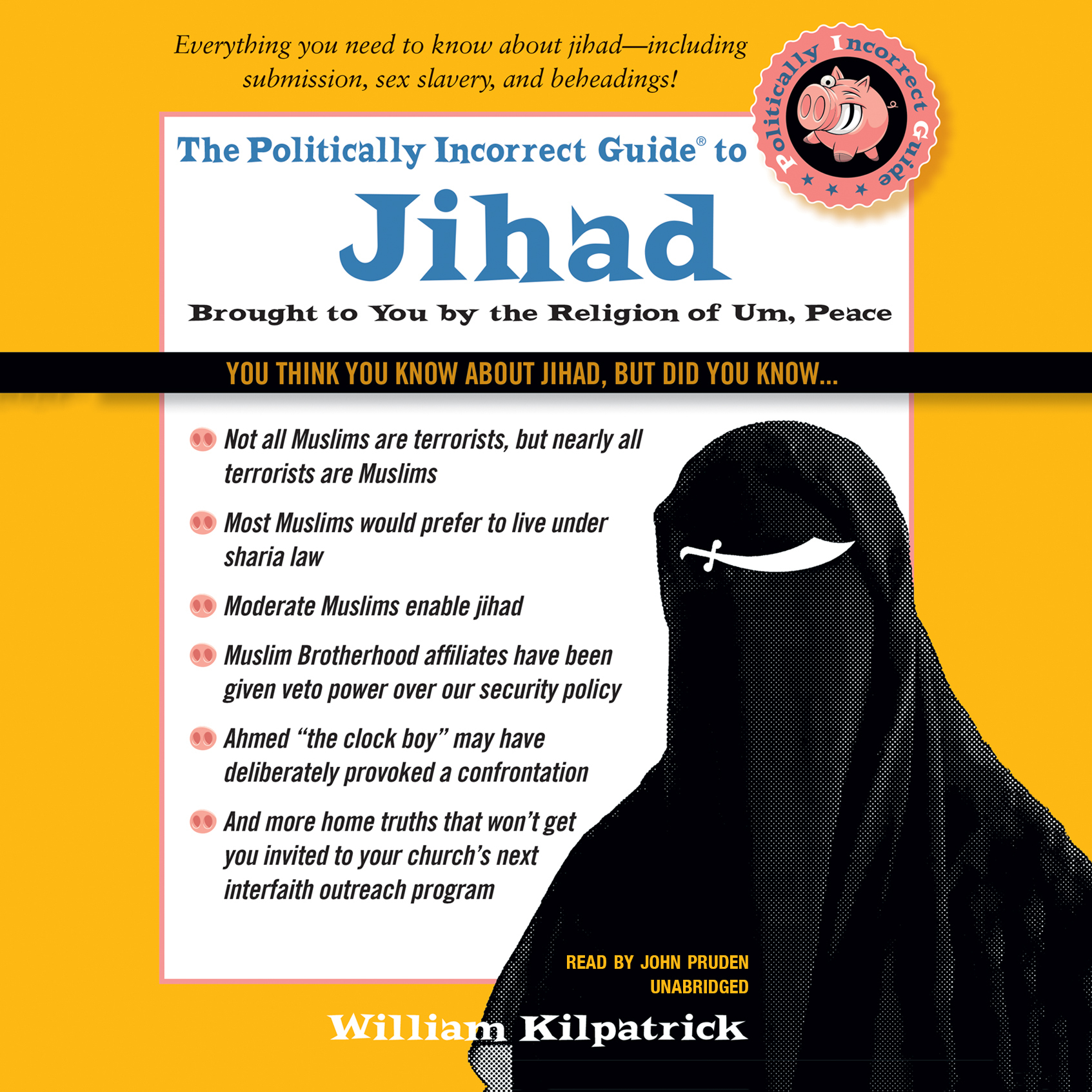 Printable The Politically Incorrect Guide to Jihad Audiobook Cover Art