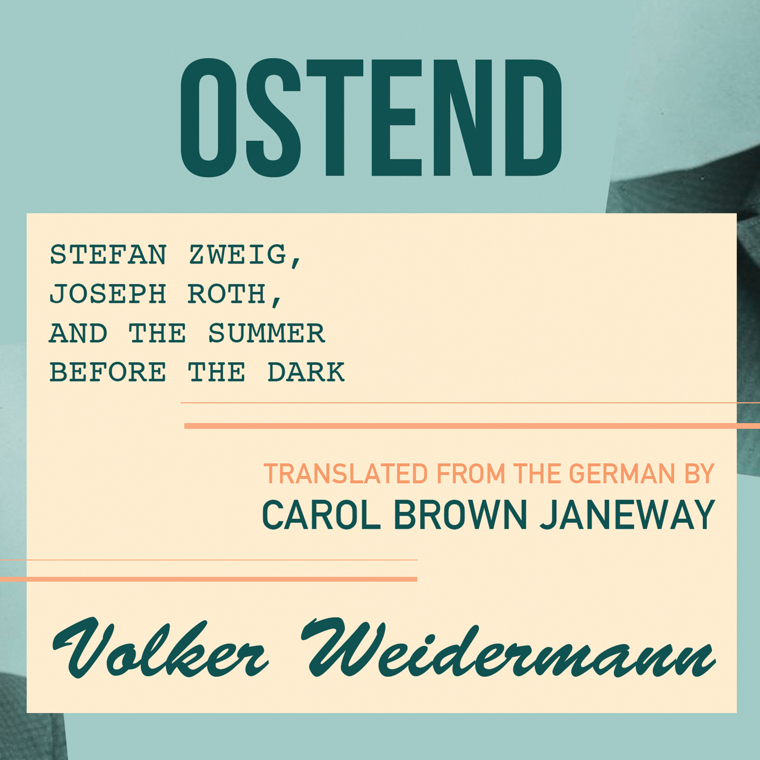 Printable Ostend Audiobook Cover Art