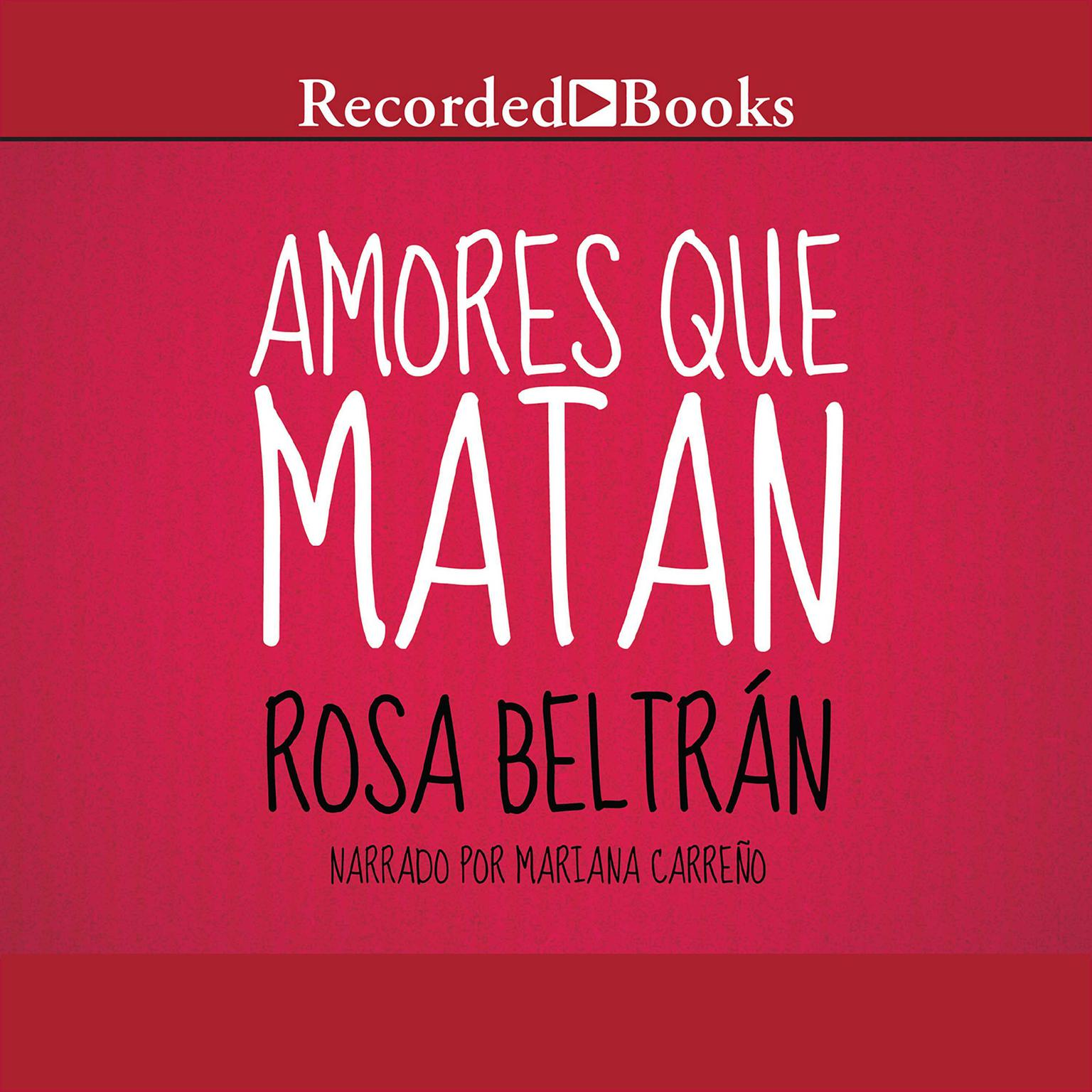 Printable Amores Que Matan Audiobook Cover Art