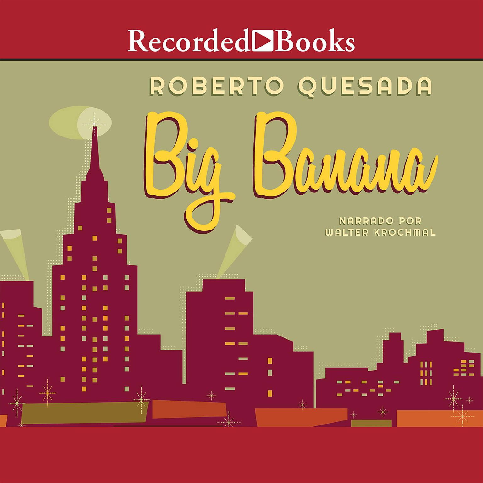 Printable The Big Banana Audiobook Cover Art