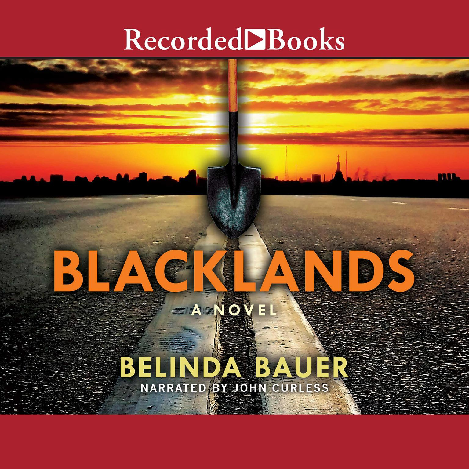Printable Blacklands Audiobook Cover Art