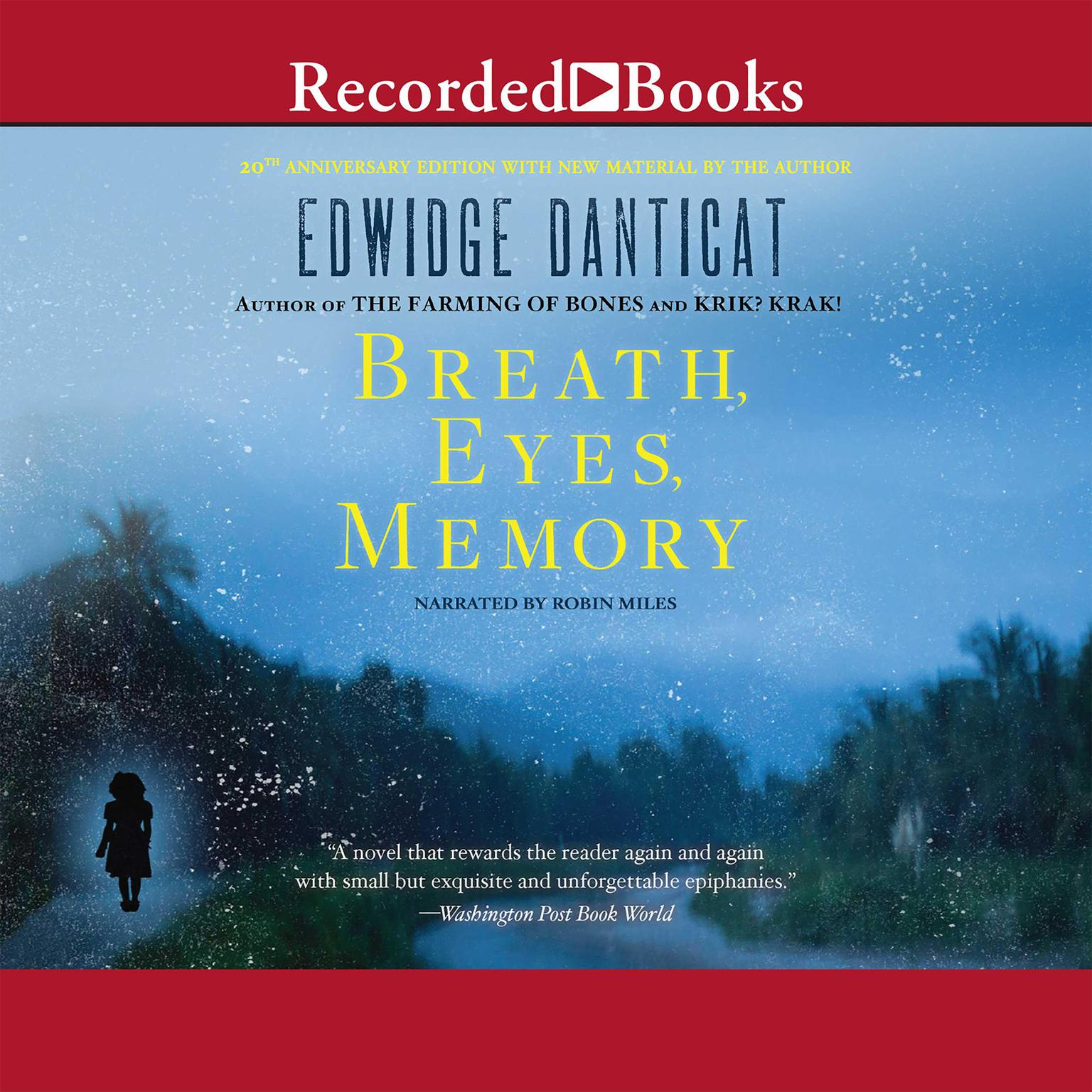 Printable Breath, Eyes, Memory Audiobook Cover Art