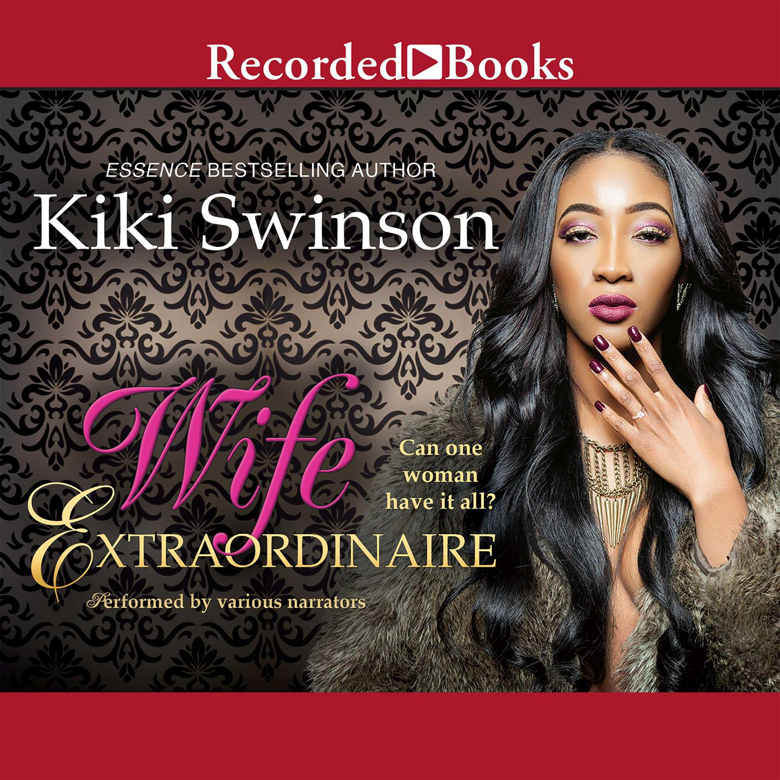 Printable Wife Extraordinaire Audiobook Cover Art