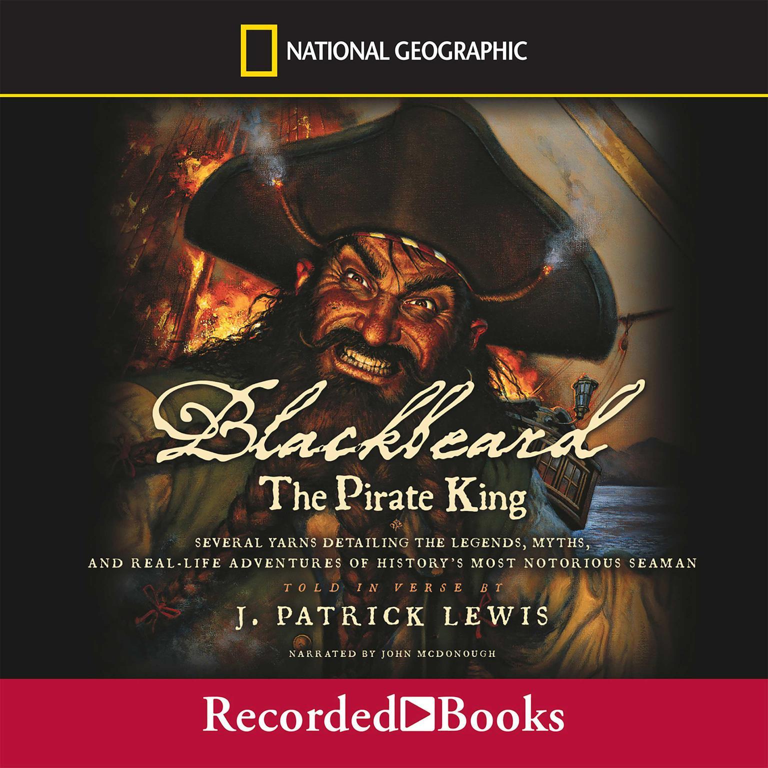 Printable Blackbeard the Pirate King Audiobook Cover Art