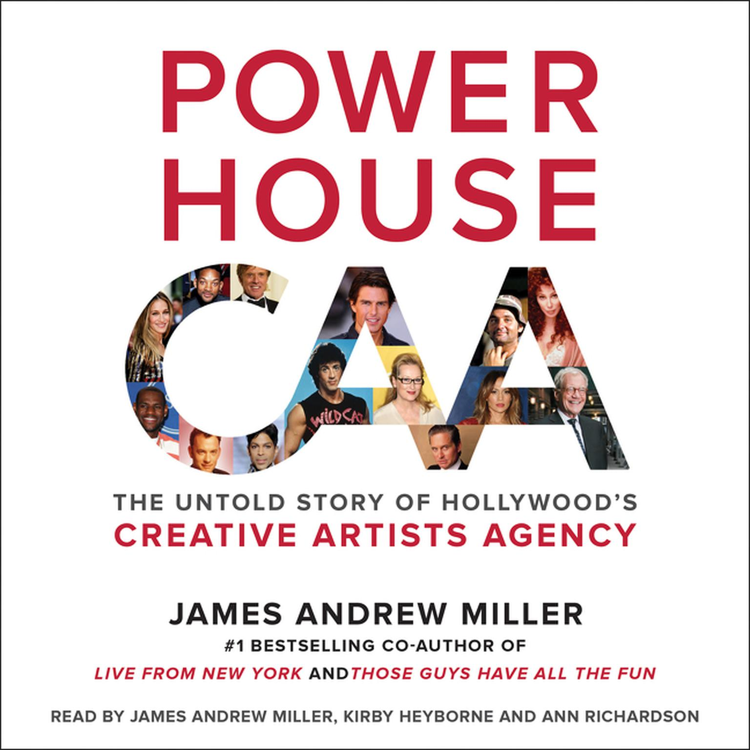 Printable Powerhouse: The Untold Story of Hollywood's Creative Artists Agency Audiobook Cover Art