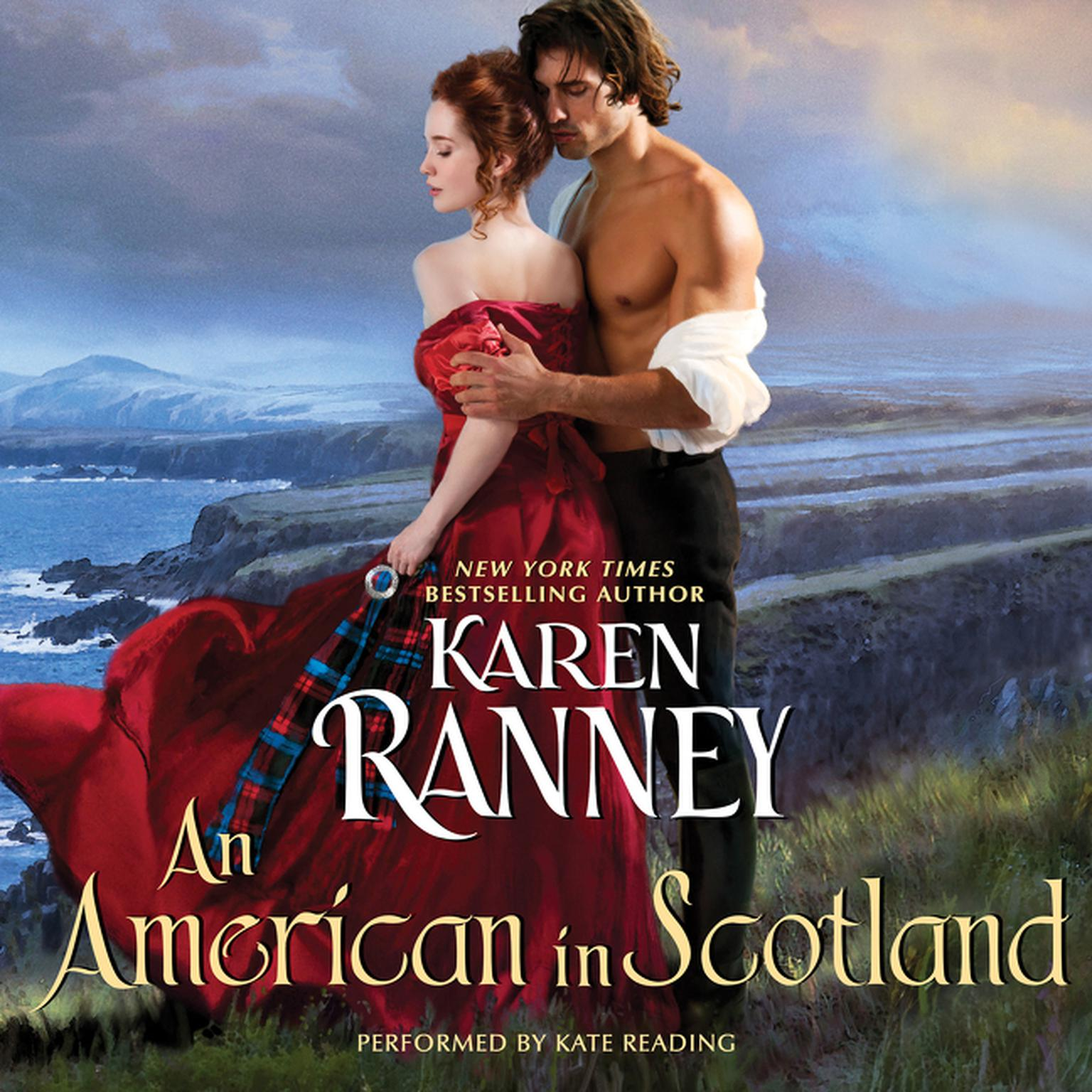 Printable An American in Scotland Audiobook Cover Art