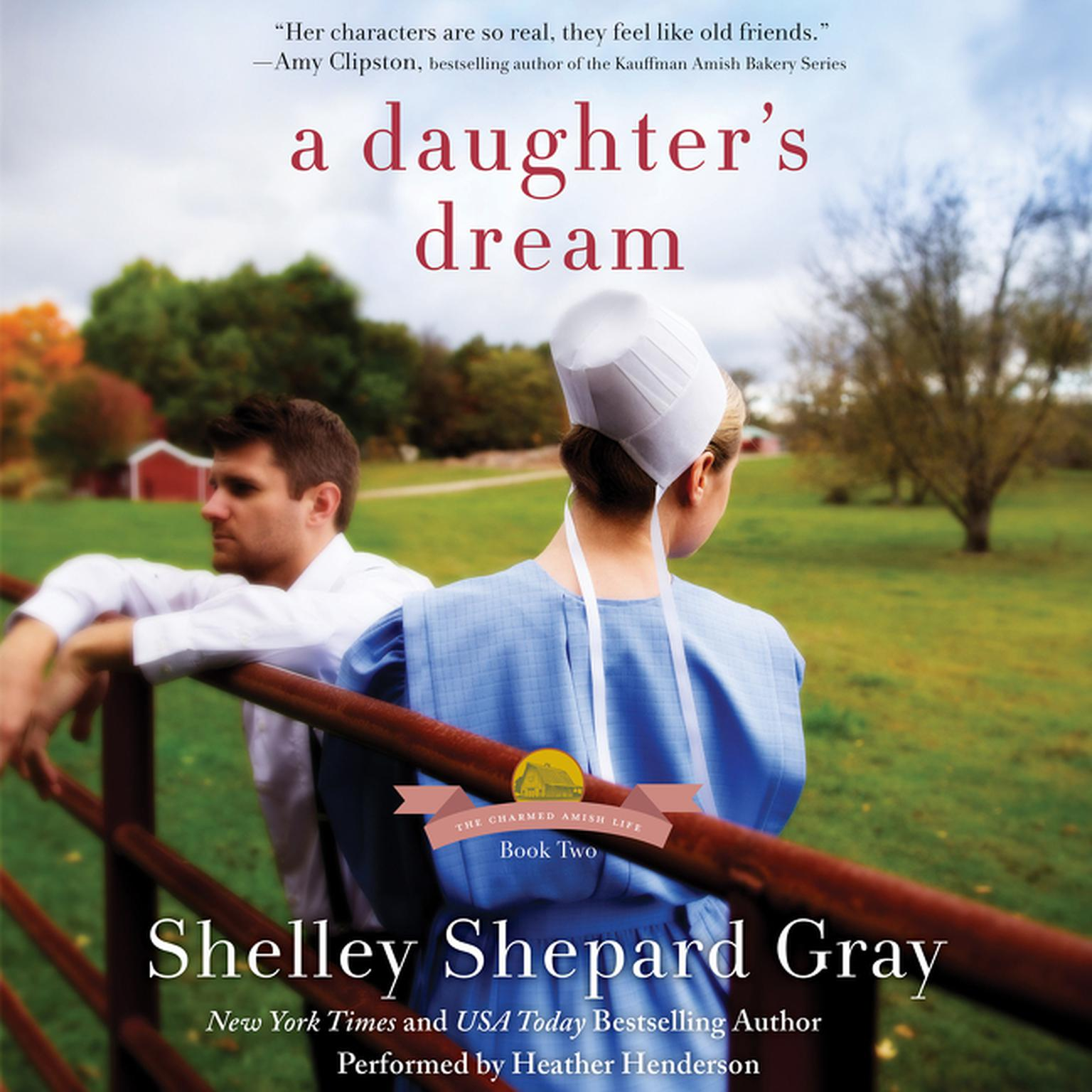 Printable A Daughter's Dream: The Charmed Amish Life, Book Two Audiobook Cover Art