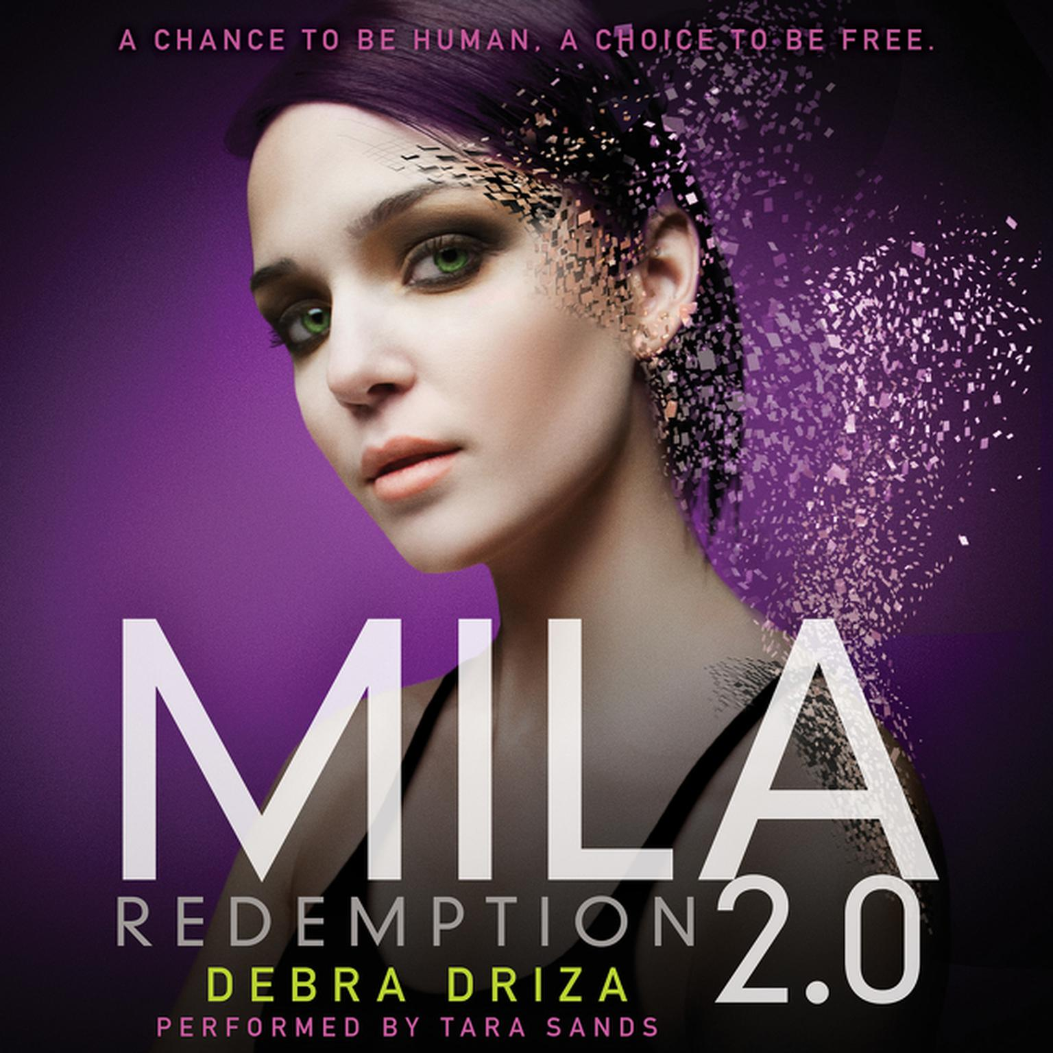Printable Mila 2.0: Redemption Audiobook Cover Art
