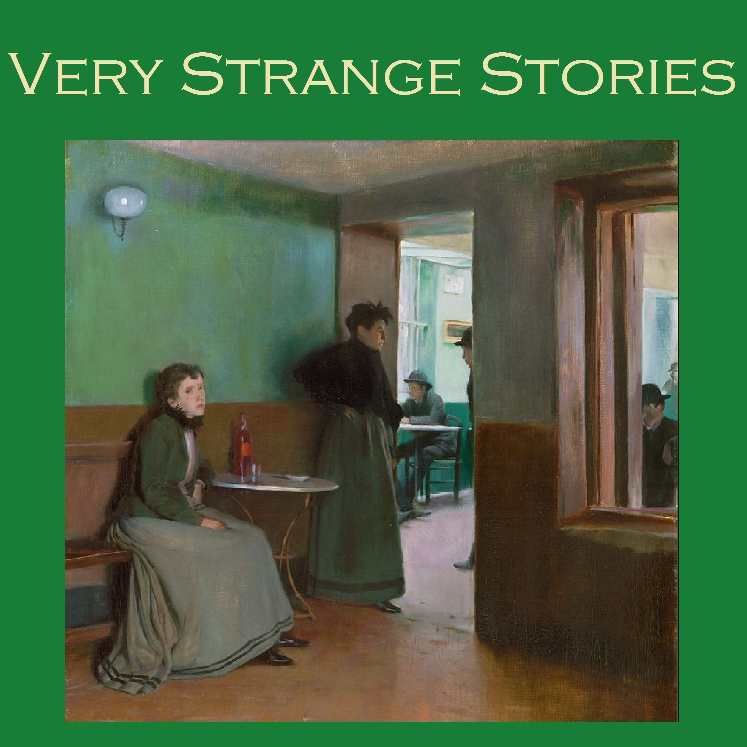 Printable Very Strange Stories: Fifty Astoundingly Queer Tales Audiobook Cover Art