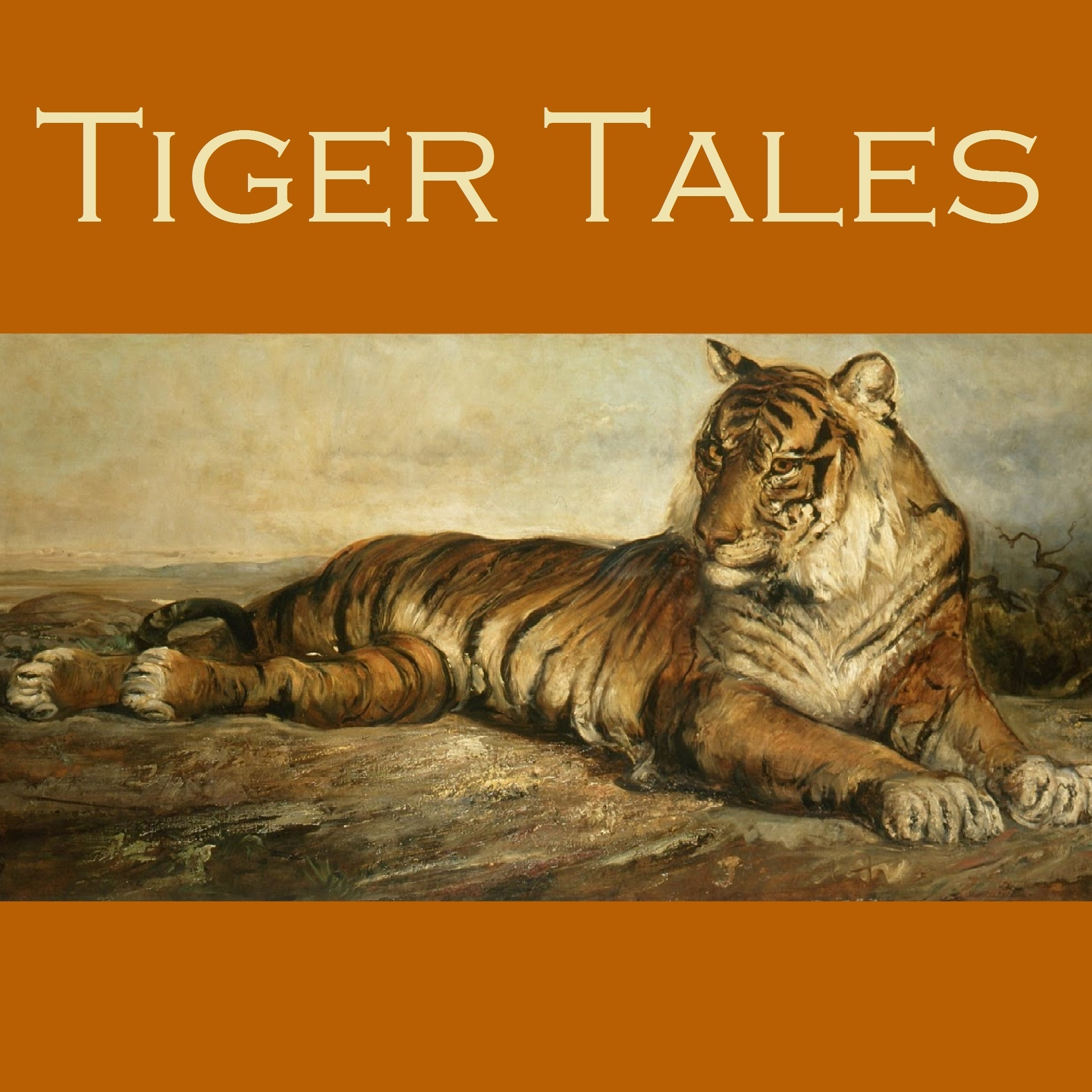 Printable Tiger Tales Audiobook Cover Art